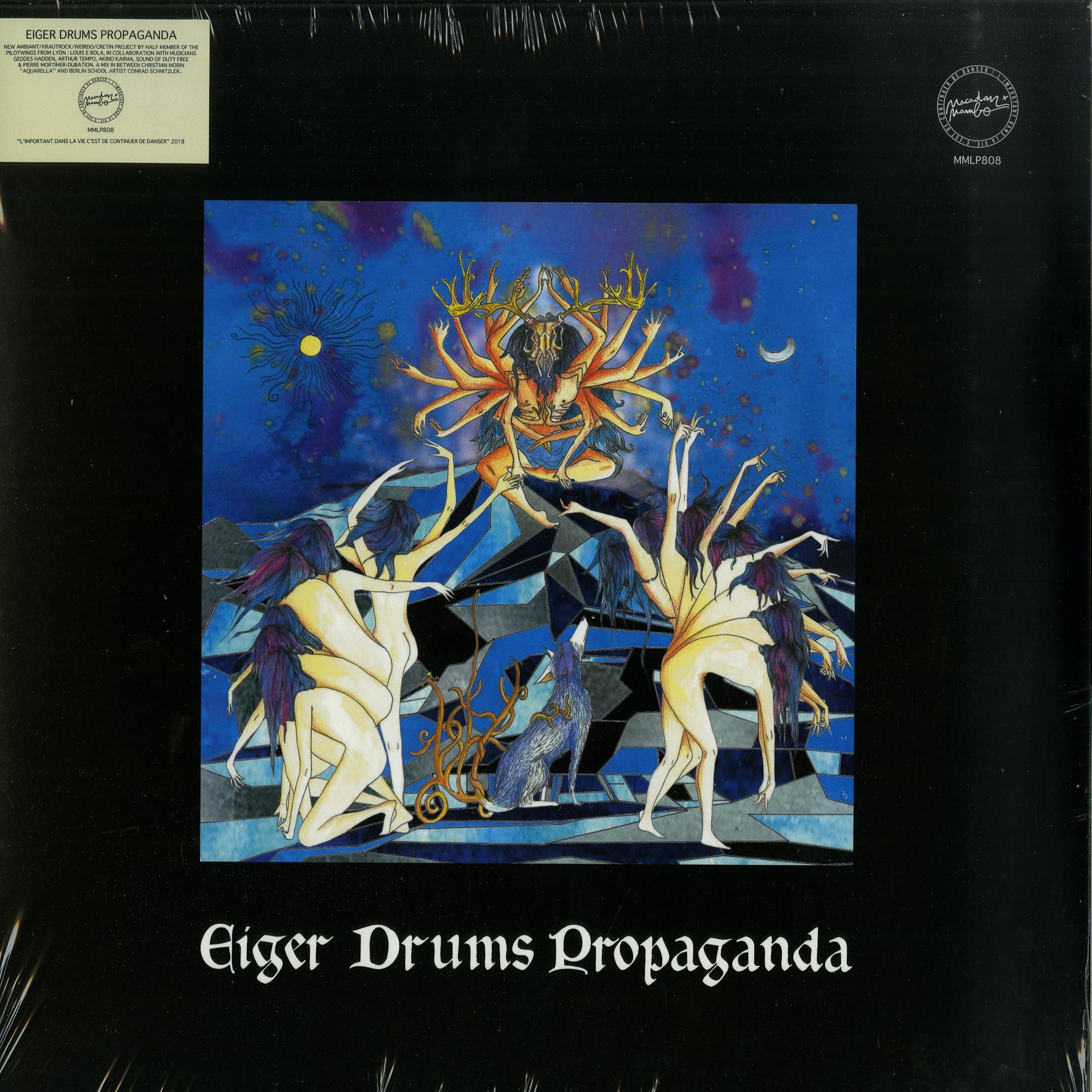 Eiger Drums Propaganda - EIGER DRUMS PROPAGANDA