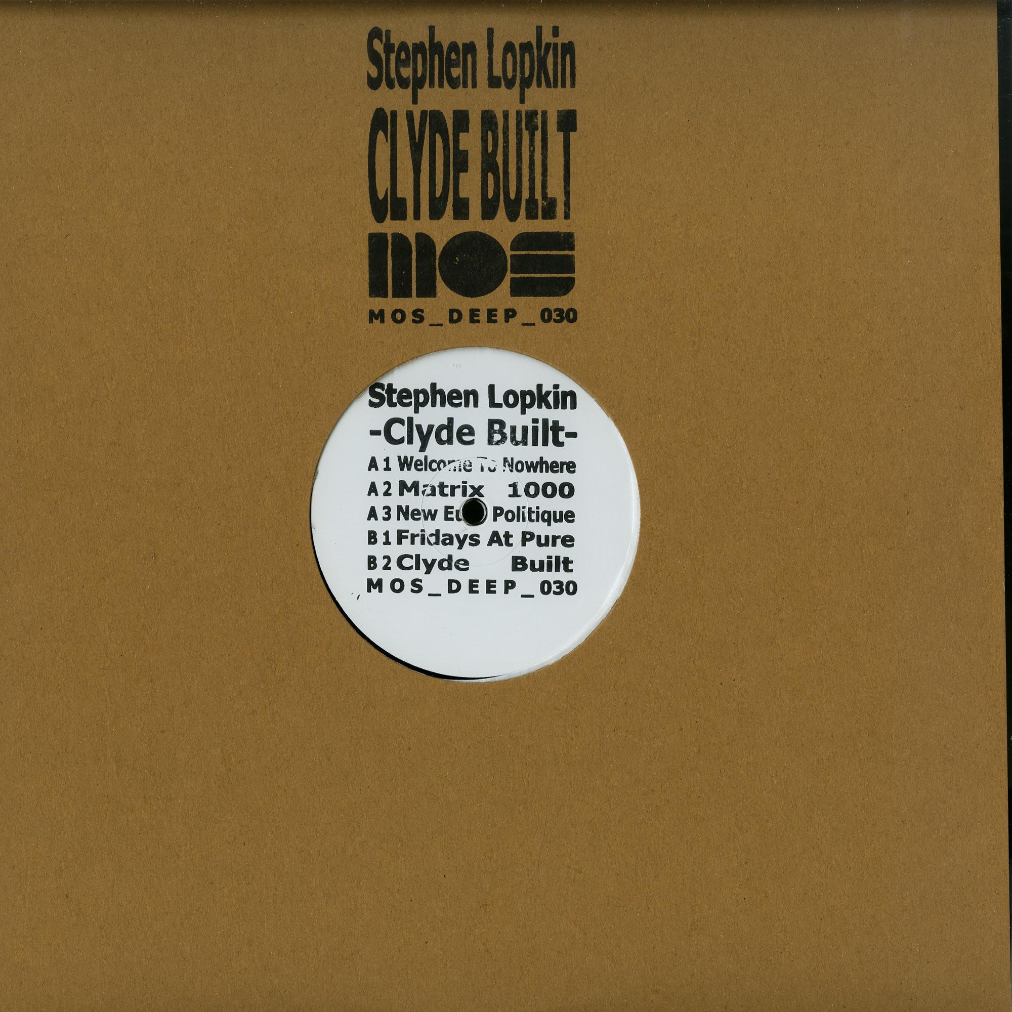 Stephen Lopkin - CLYDE BUILT