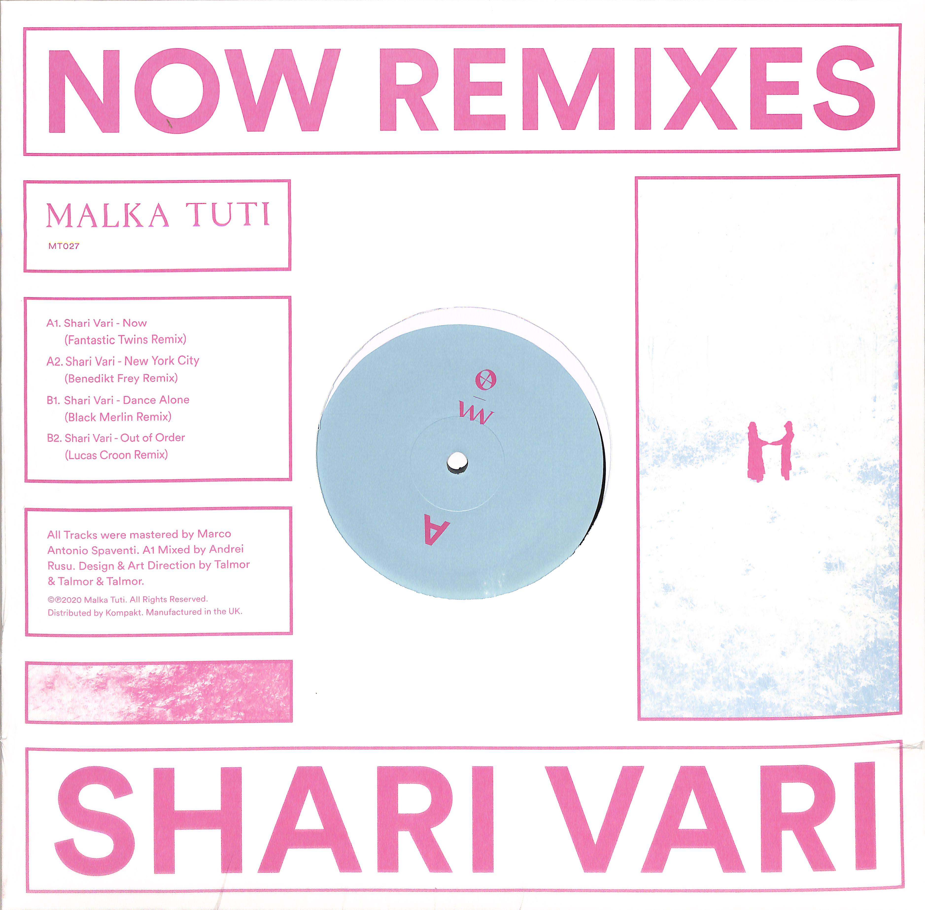 Shari Vari - NOW REMIXES