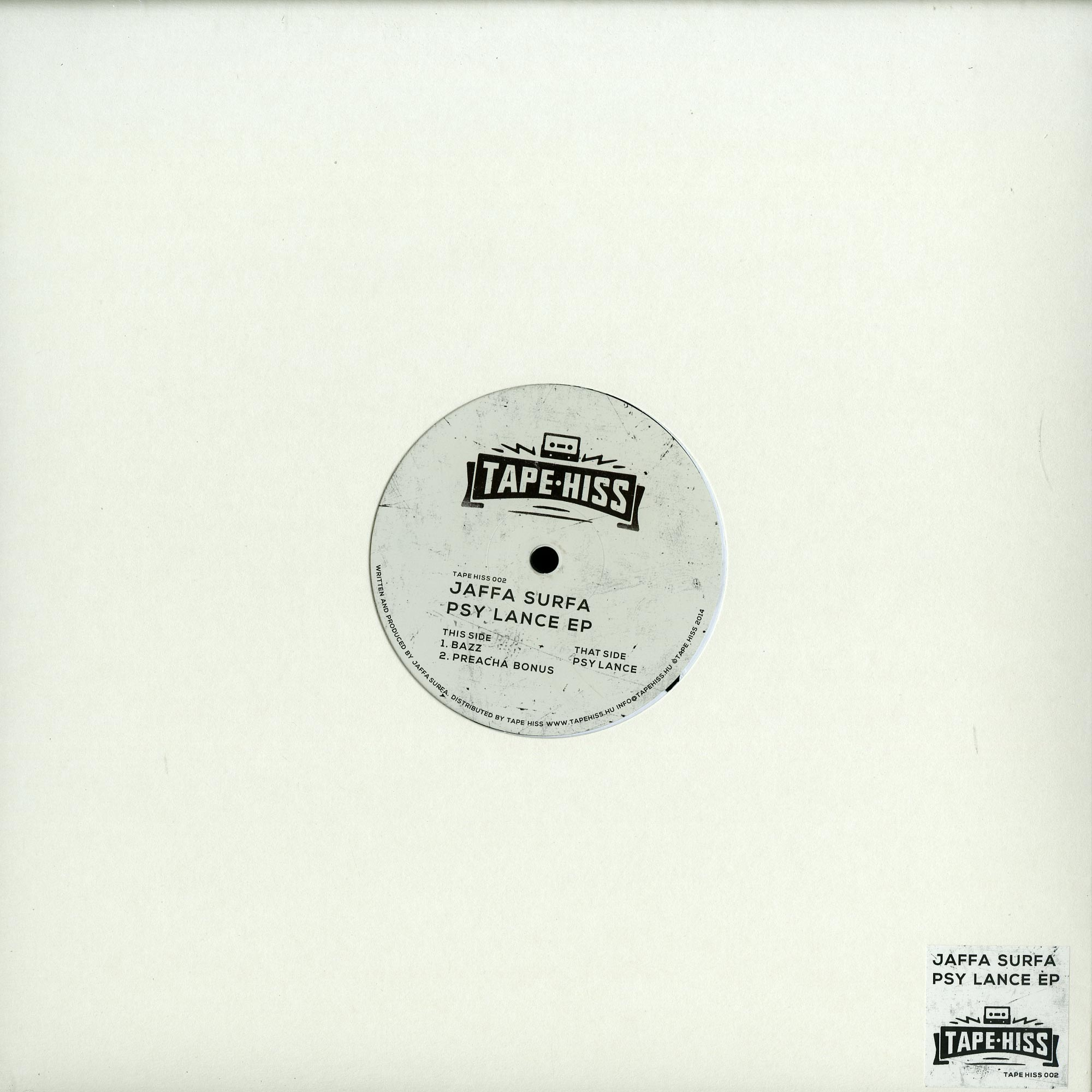 Jaffa Surfa - PSY LANCE EP