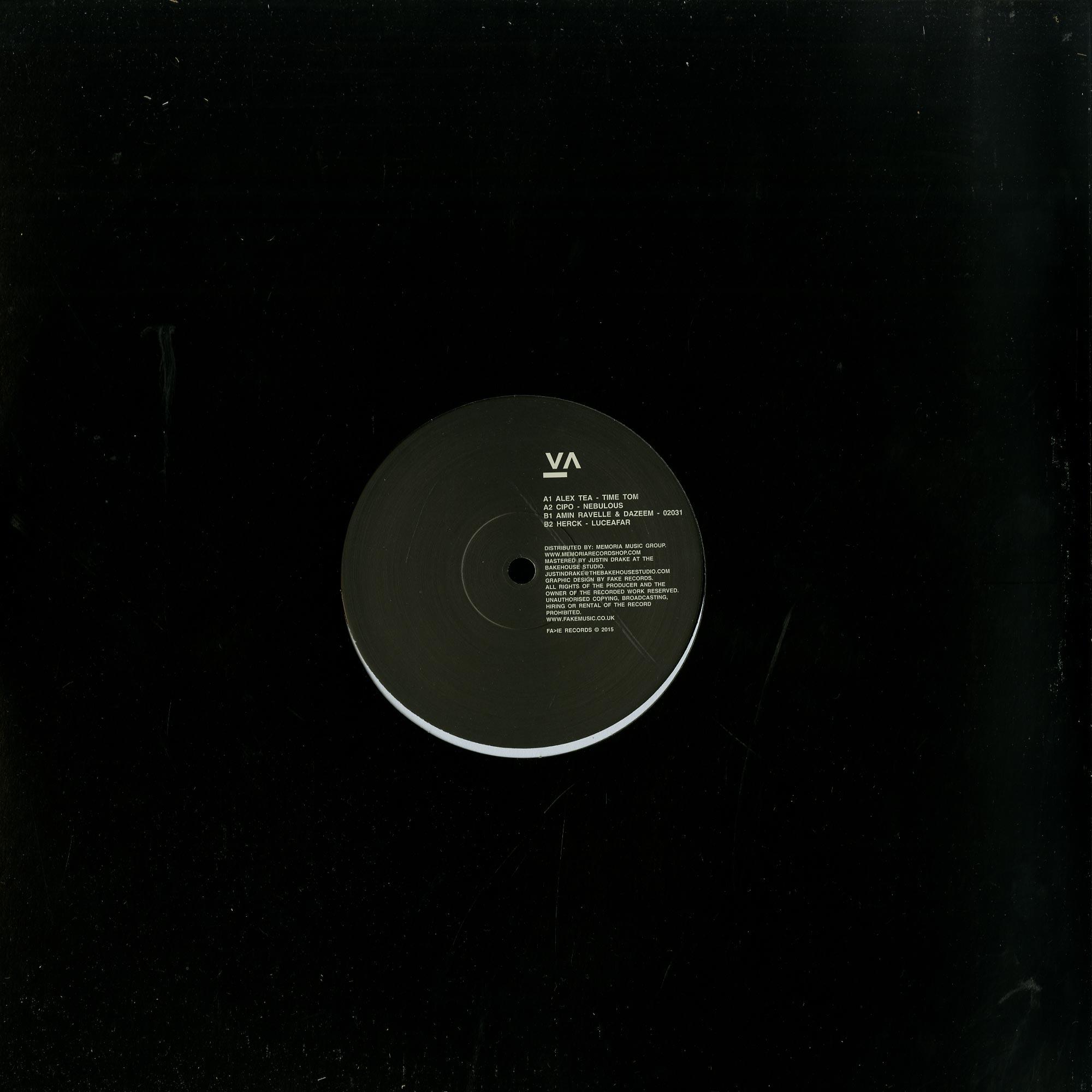 Alex Tea, Cipo, Amin Ravelle & Dazeem, Herck - FA>IE Records VA001