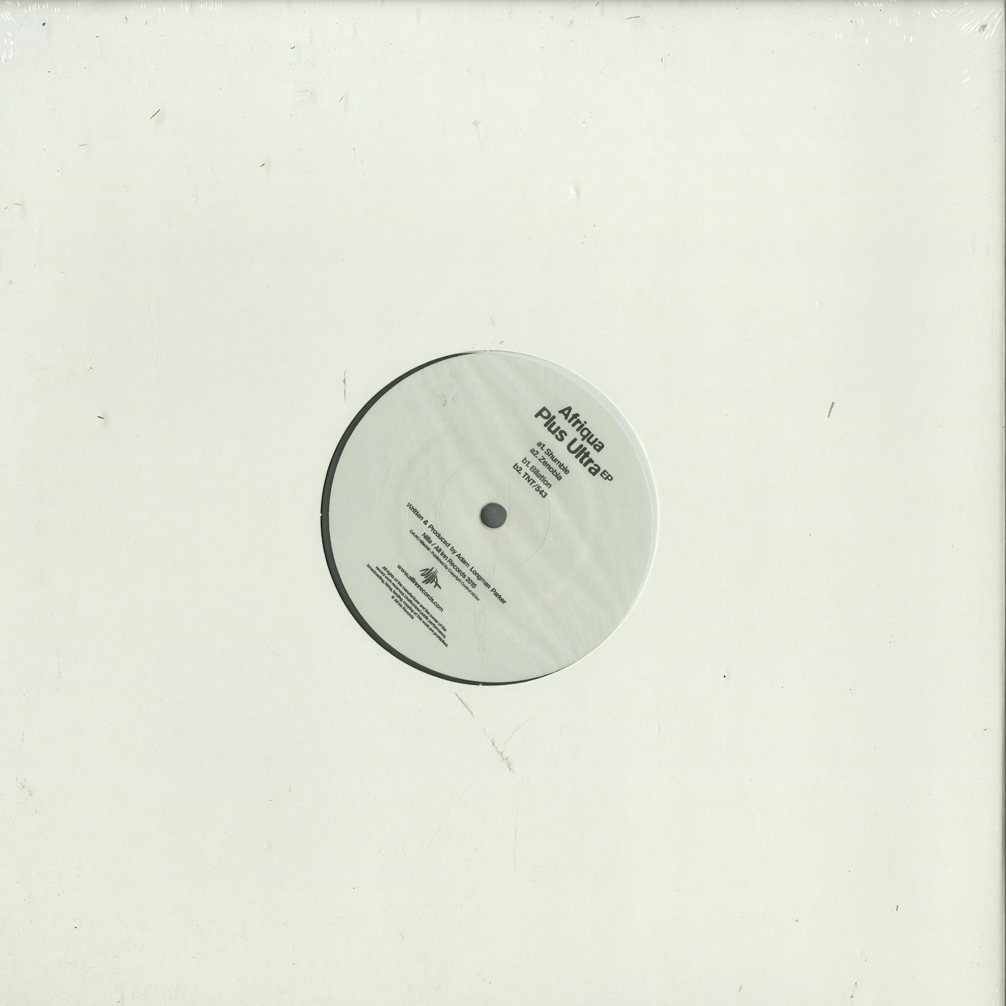 Afriqua - PLUS ULTRA EP