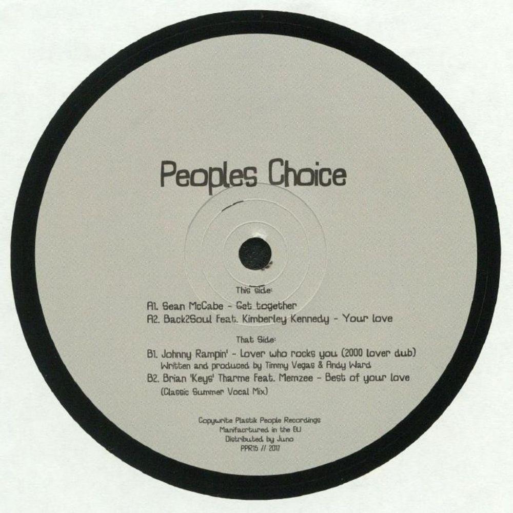 Sean Mccabe / Soul2black / Johnny Rampin / Brian Keys Tharme - PEOPLES CHOICE