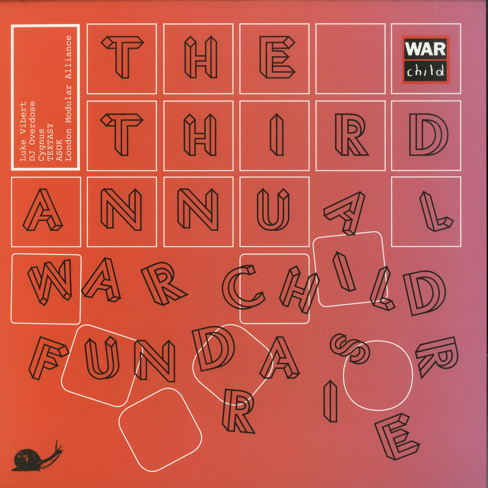 Various Artists - THE THIRD ANNUAL WAR CHILD FUNDRAISER