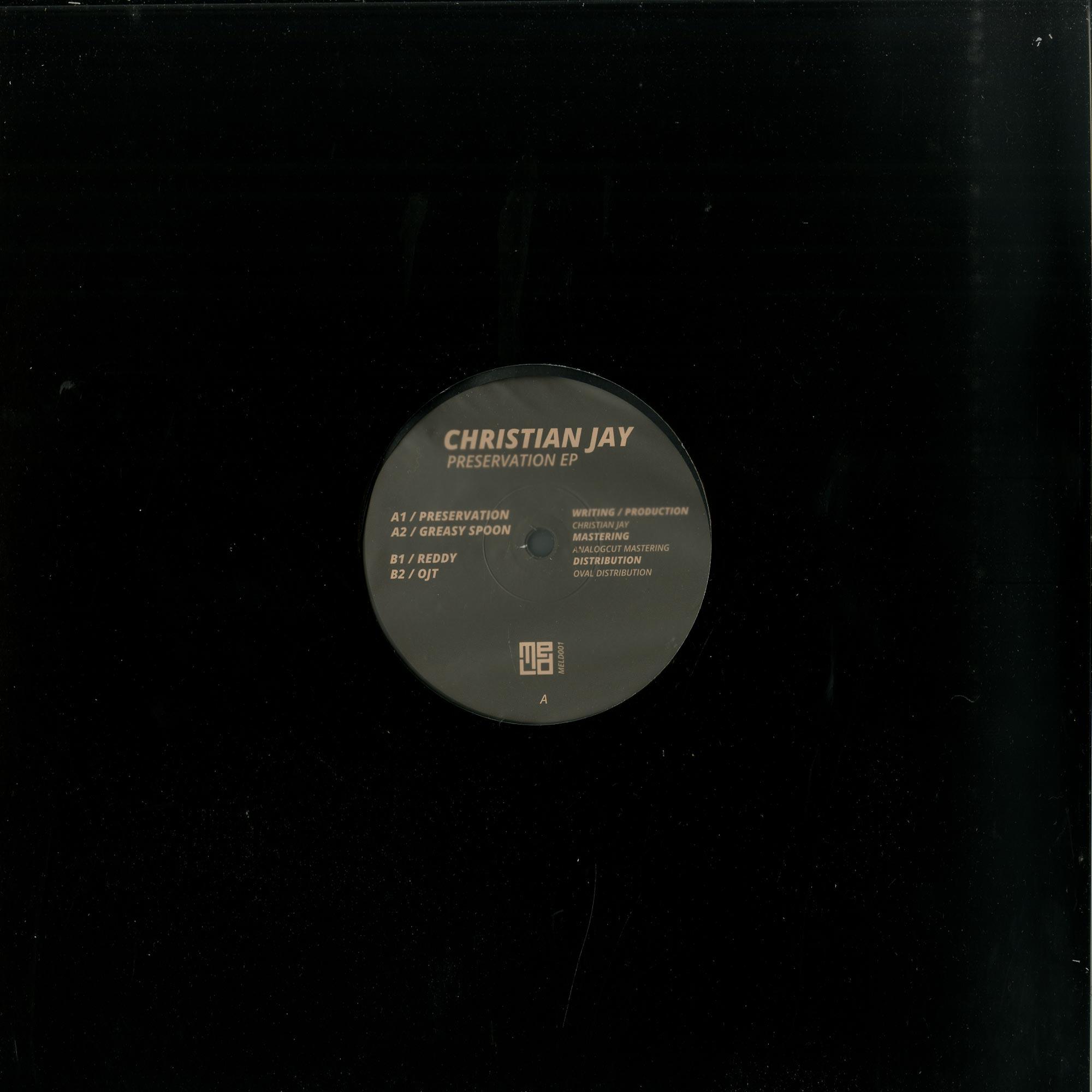 Christian Jay - PRESERVATION EP