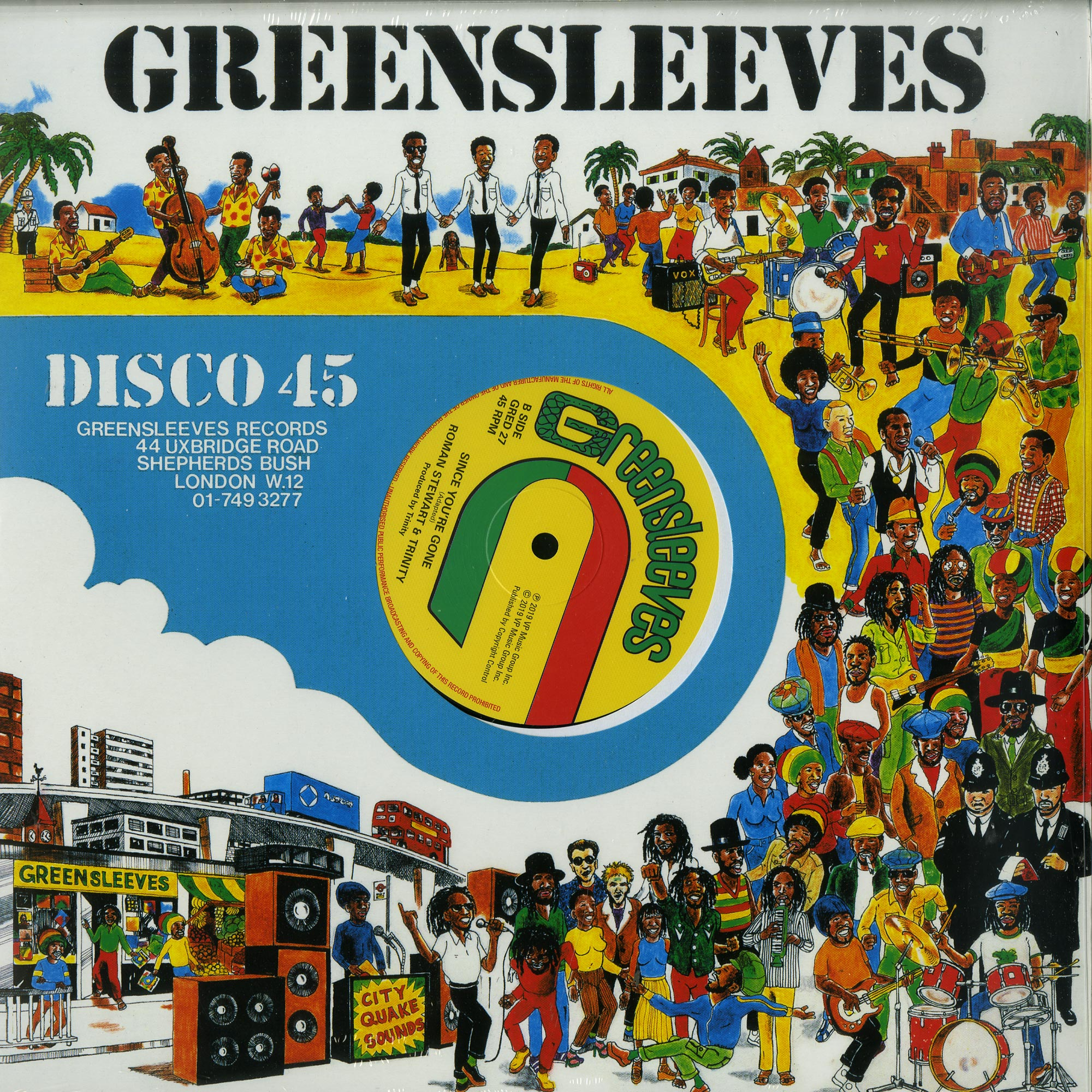 Barrington Levy & Trinity - LOSE RESPECT / SINCE YOURE GONE
