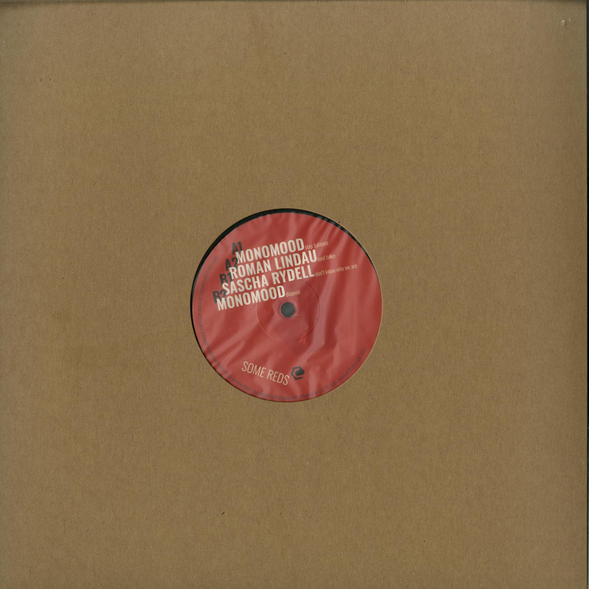 Roman Lindau / Sascha Rydell / Monomood - SOME REDS