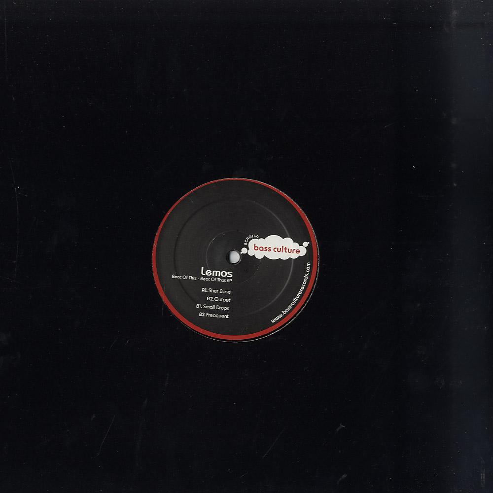 Lemos - BEAT OF THIS - BEAT OF THAT EP