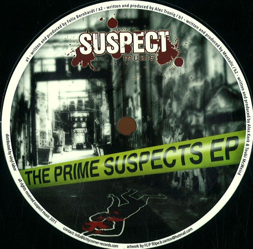 Various Artists  - PRIME SUSPECTS EP