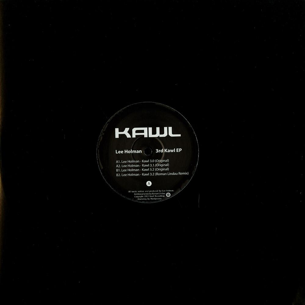 Lee Holman - 3RD KAWL EP