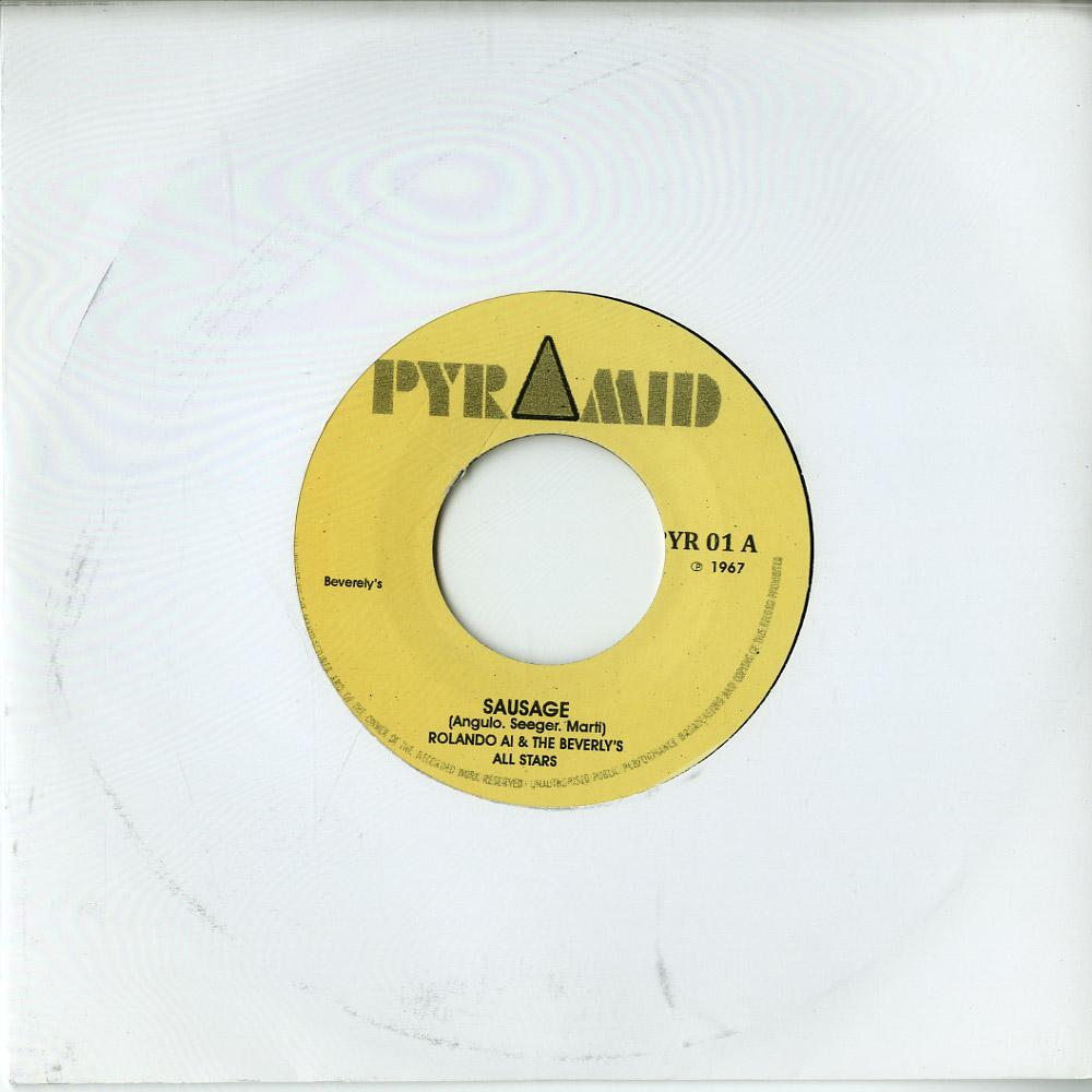 Rolando Al & The Beverly s All Stars - SAUSAGE / SOUL FINGER