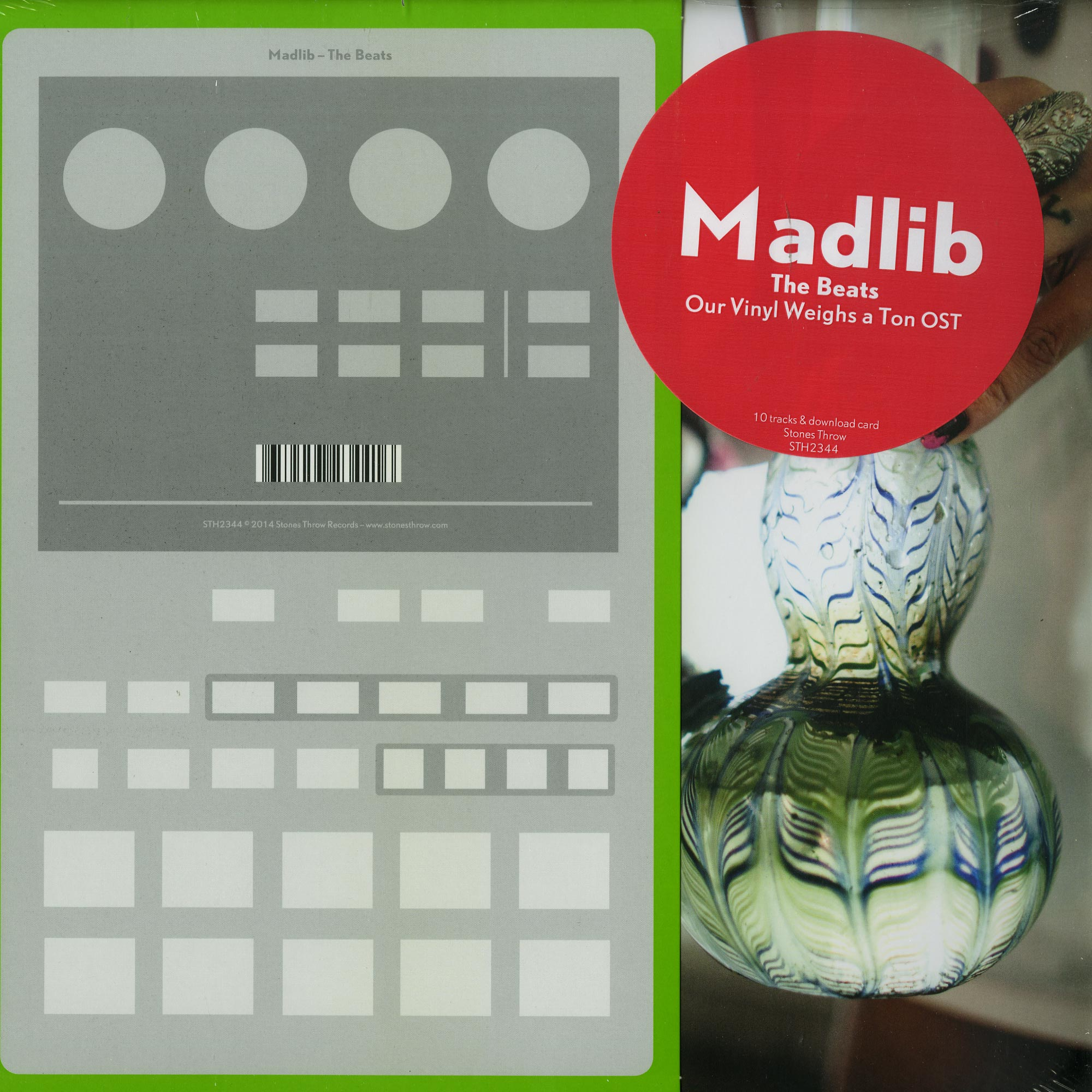 Madlib - THE BEATS: OUR VINYL WEIGHS A TON O.S.T.