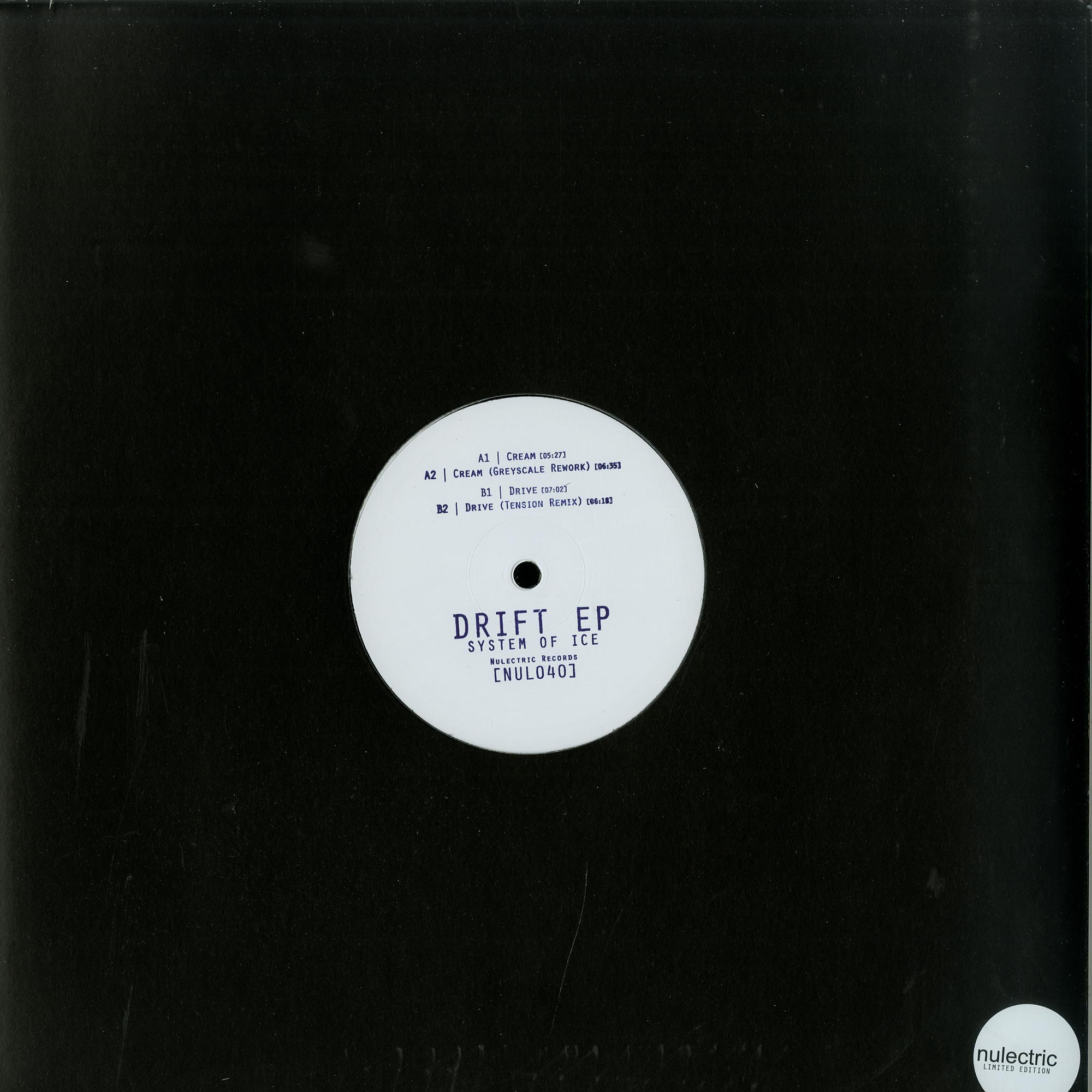 System Of Ice - DRIFT EP