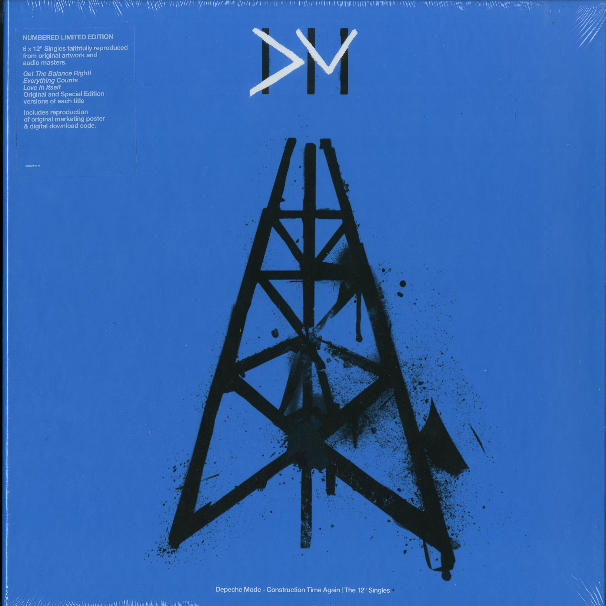 Depeche Mode - CONSTRUCTION TIME AGAIN - THE SINGLES