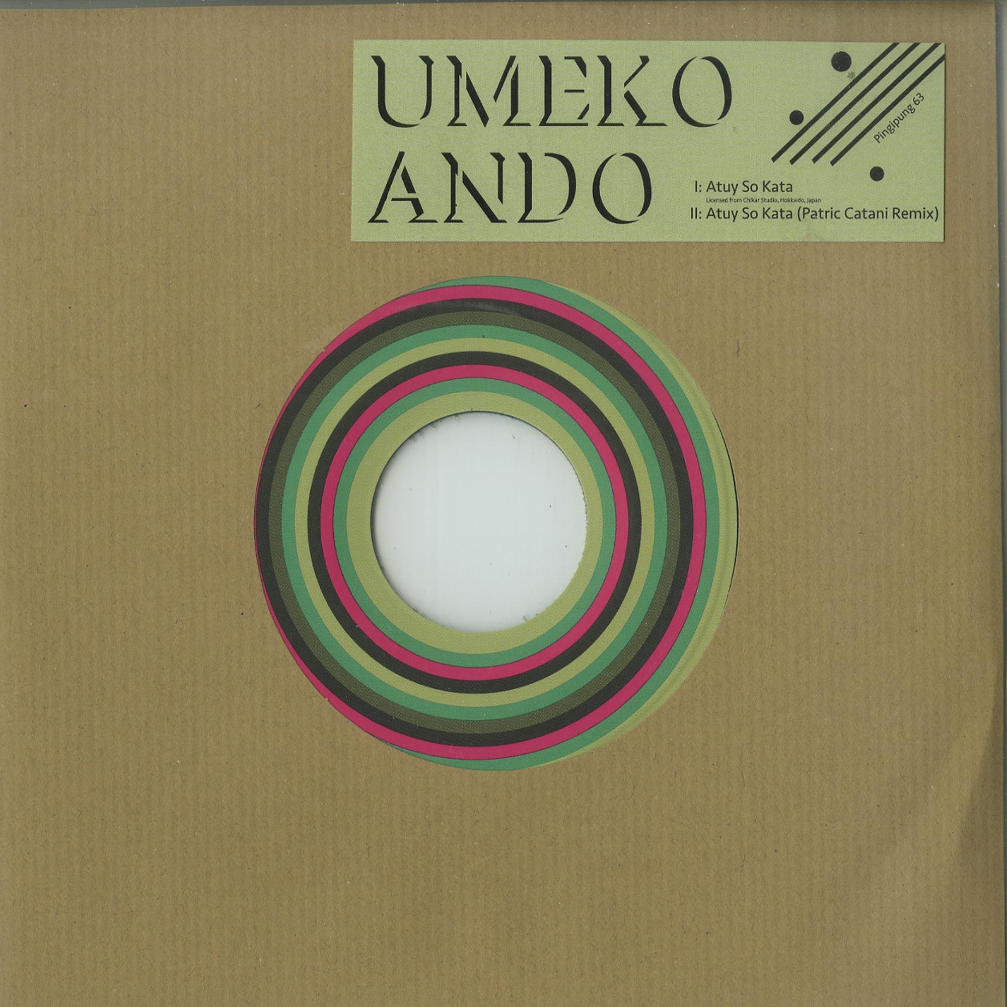 Umeko Ando - ATUY SO KATA