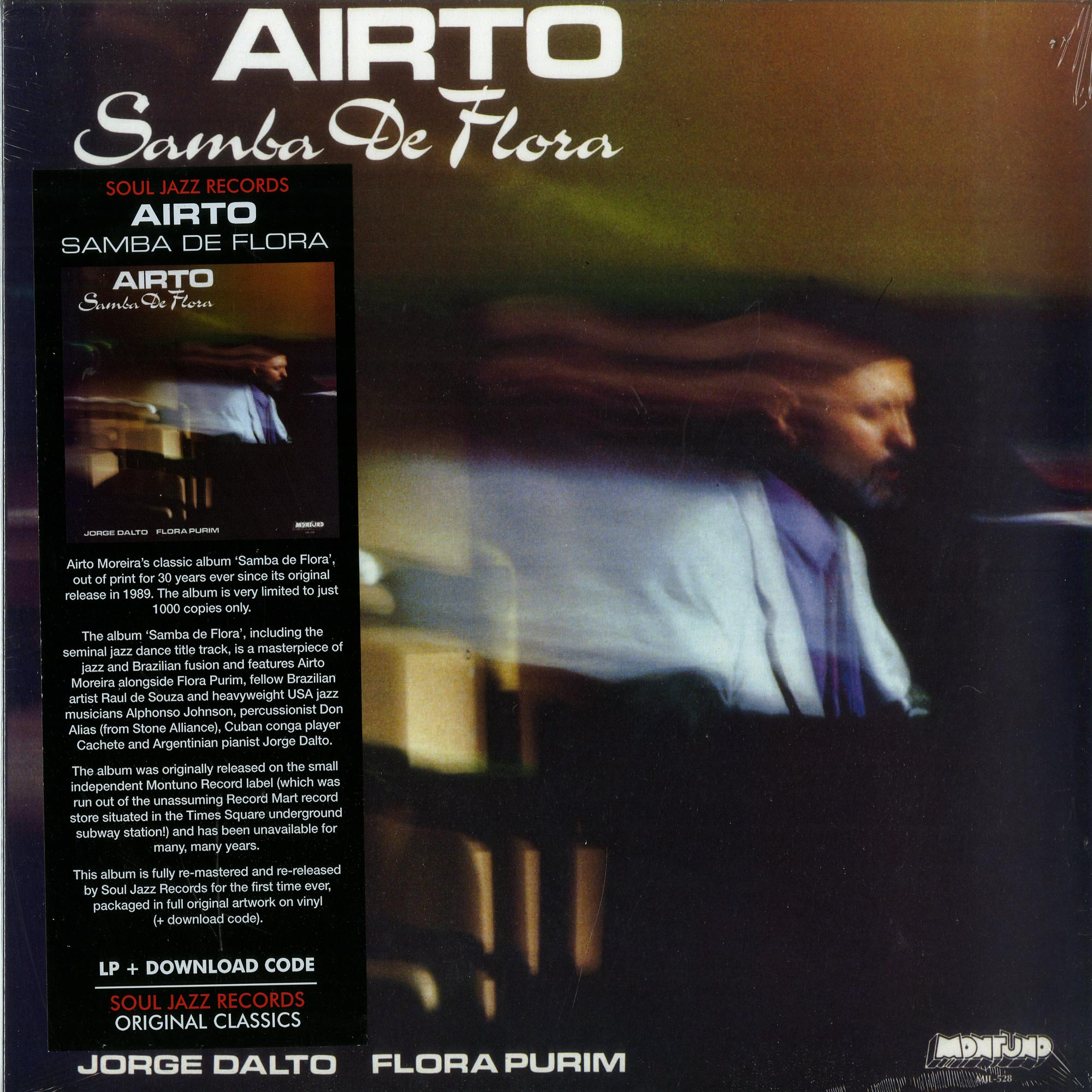 Airto - SAMBA DE FLORA