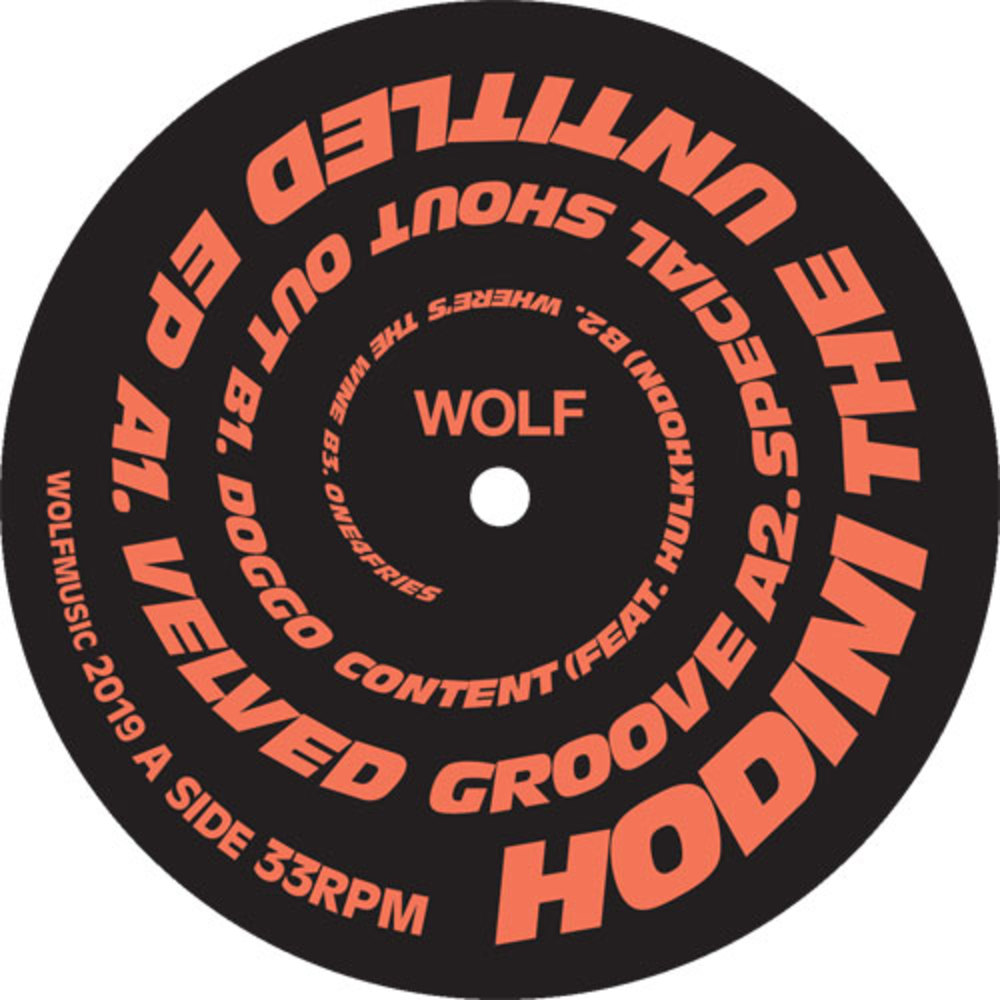 Hodini - THE UNTITLED EP