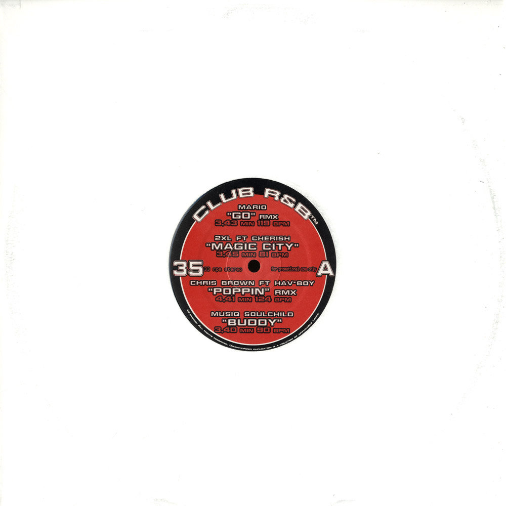 Various Artists - CLUB R&B VOL. 35