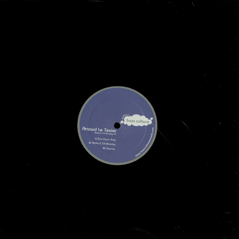 Arnaud Le Texier - MAKE IT TILL MONDAY EP