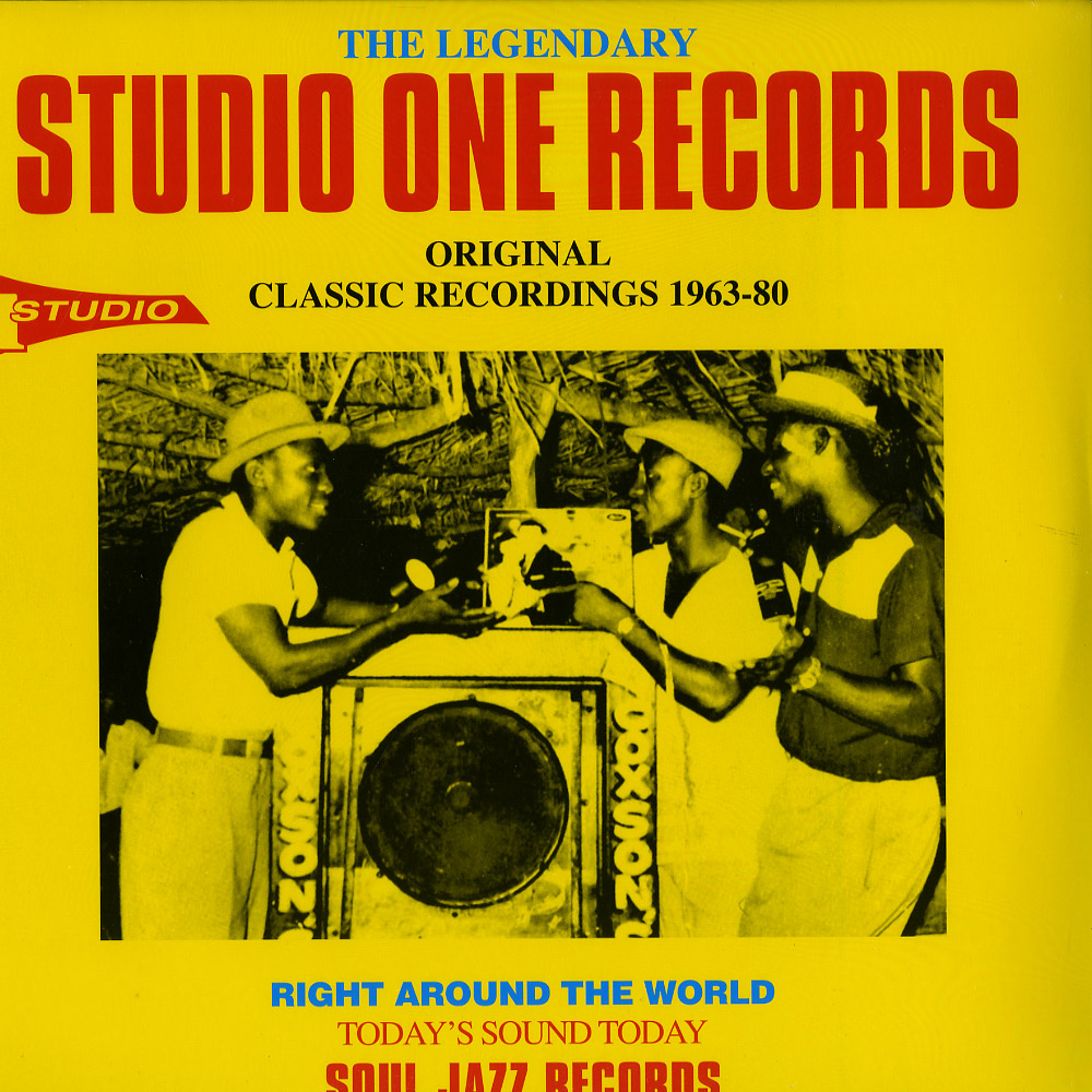 Soul Jazz Records Presents Various Artists - The Legendary Studio One Records