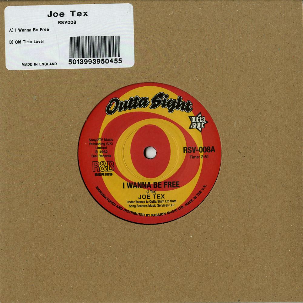 Joe Tex - I WANNA BE FREE / OLD TIME LOVER