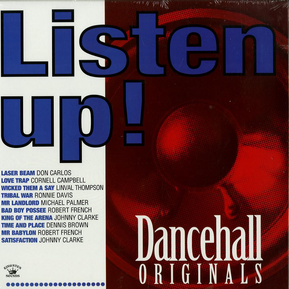 Various Artists - LISTEN UP! - DANCEHALL ORIGINALS