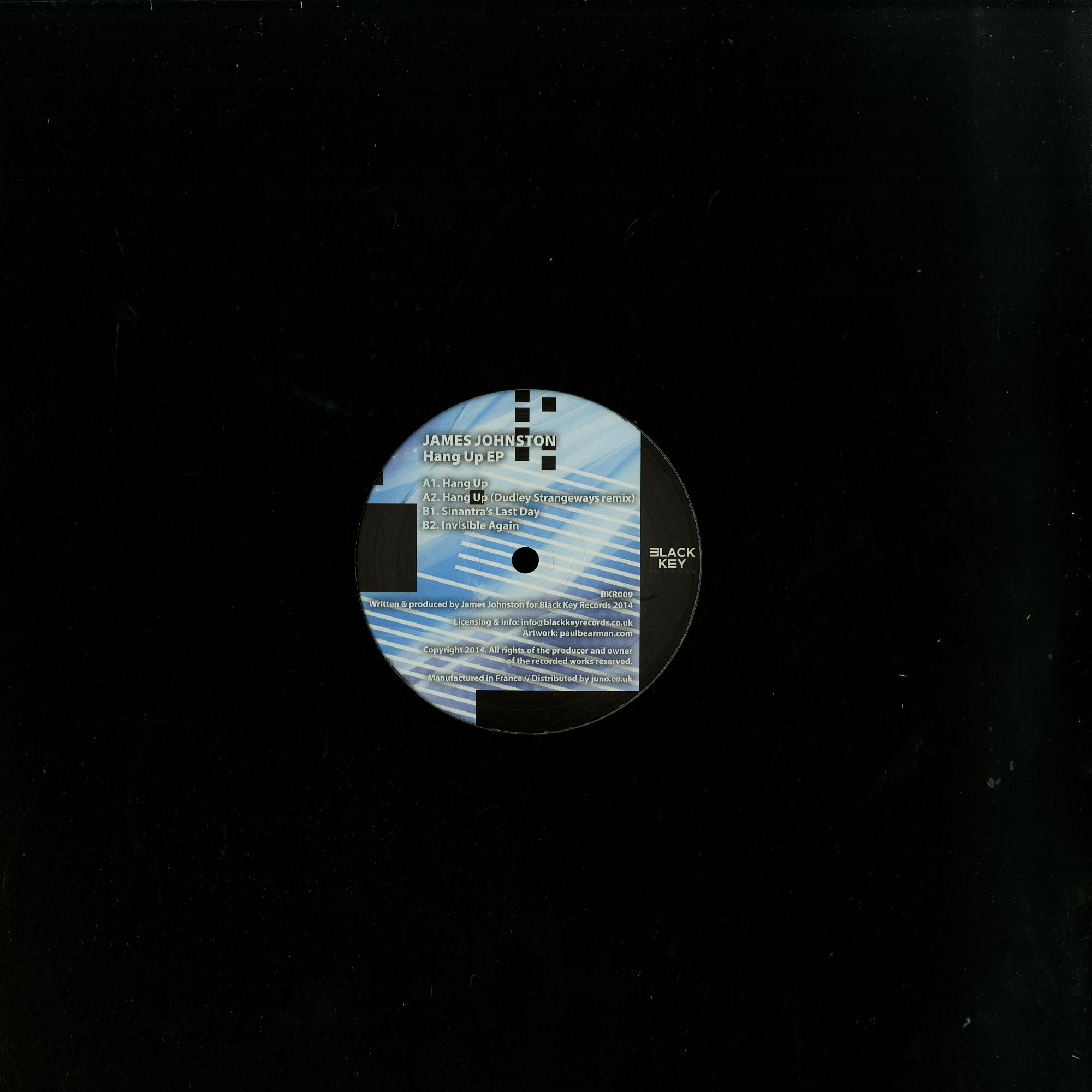 James Johnston - HANG UP EP