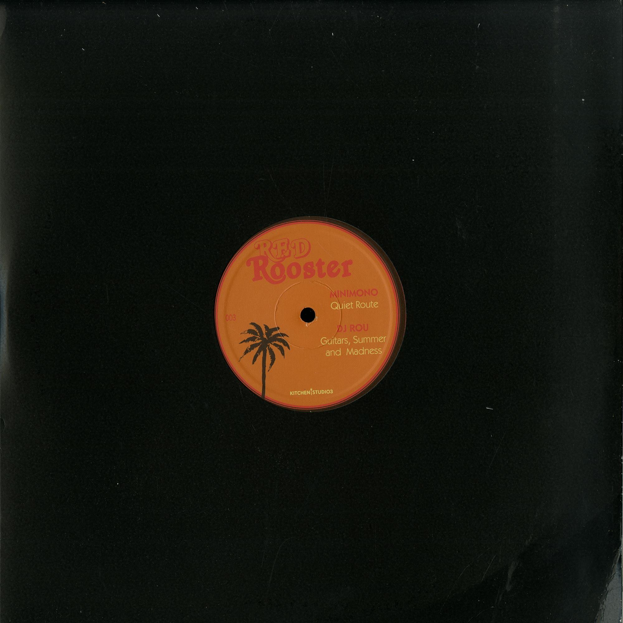 Minimono, DJ Rou, Memoryman, D Arabia - RED ROOSTER EP 003