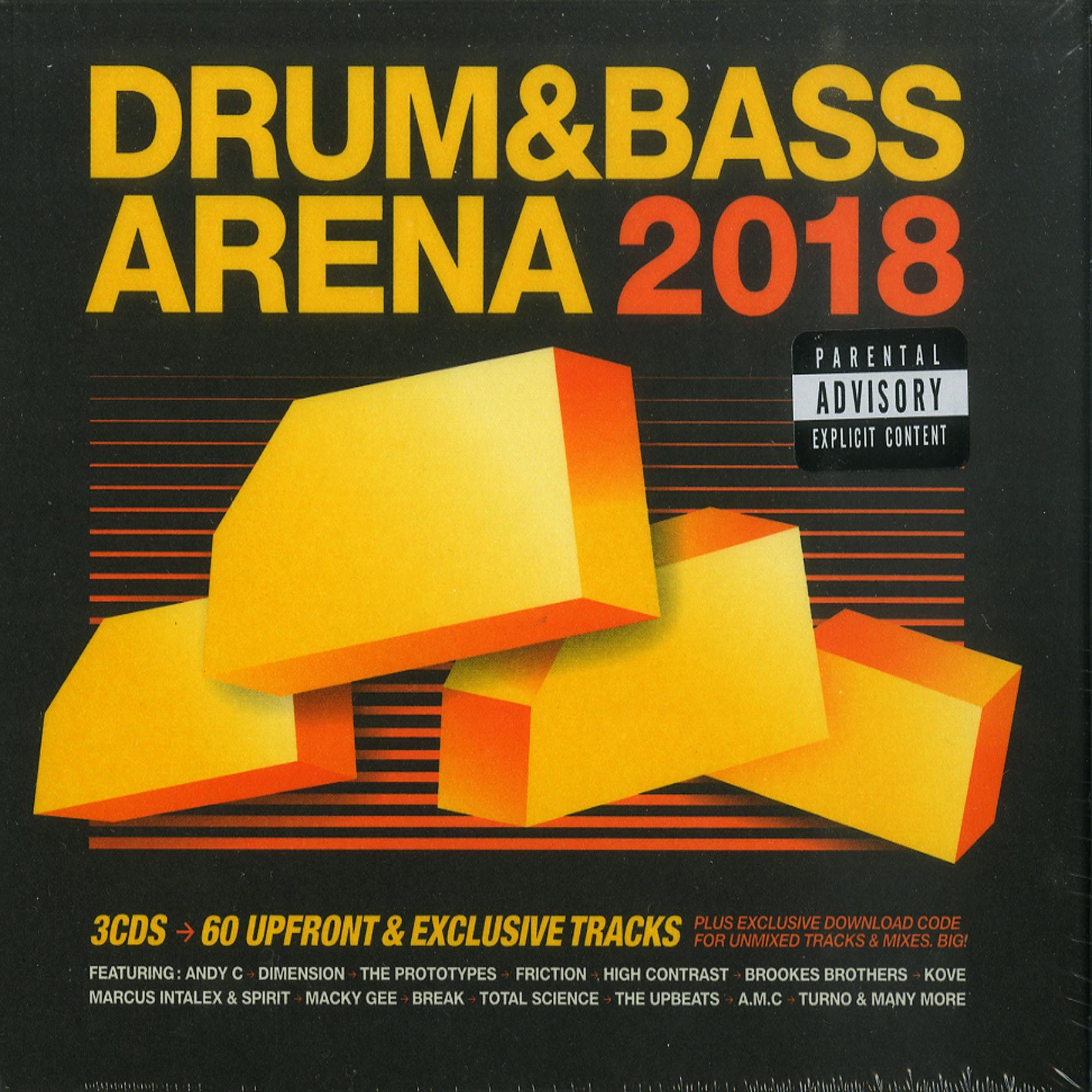 Various Artists - DRUM & BASS ARENA 2018