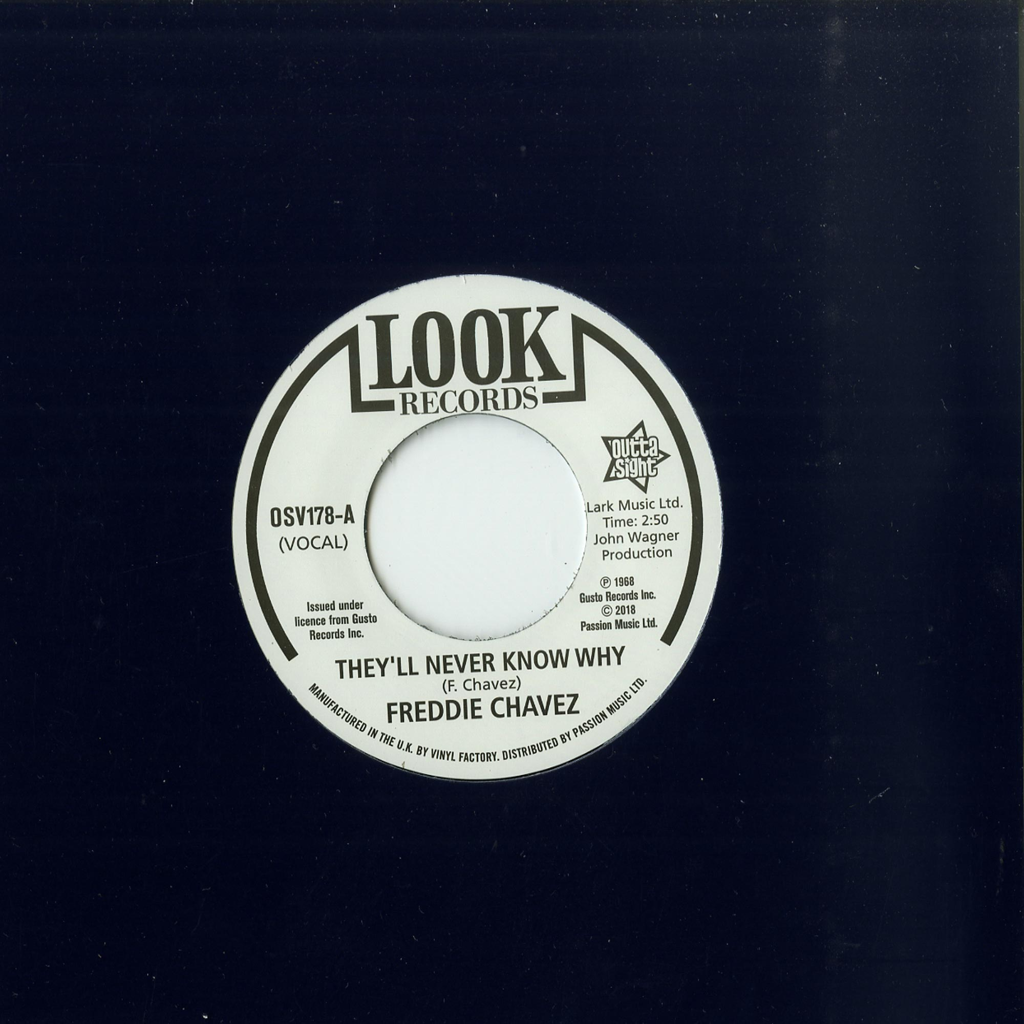 Freddie Chavez / Dave Newman - THEY LL NEVER KNOW WHY / MAKE UP YOUR MIND