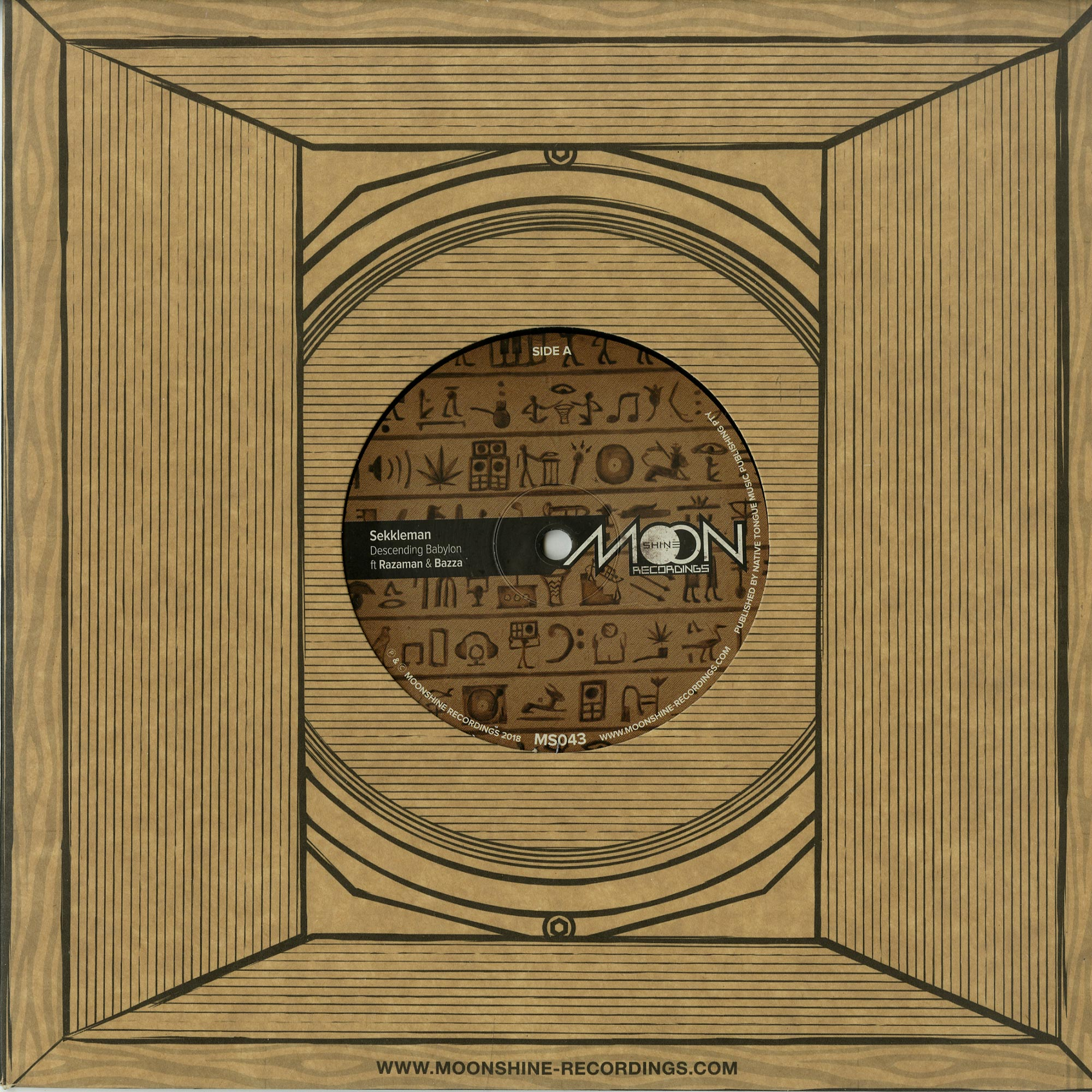 Sekkleman - DESCENDING BABYLON / DANCEHALL GRAVEYARD