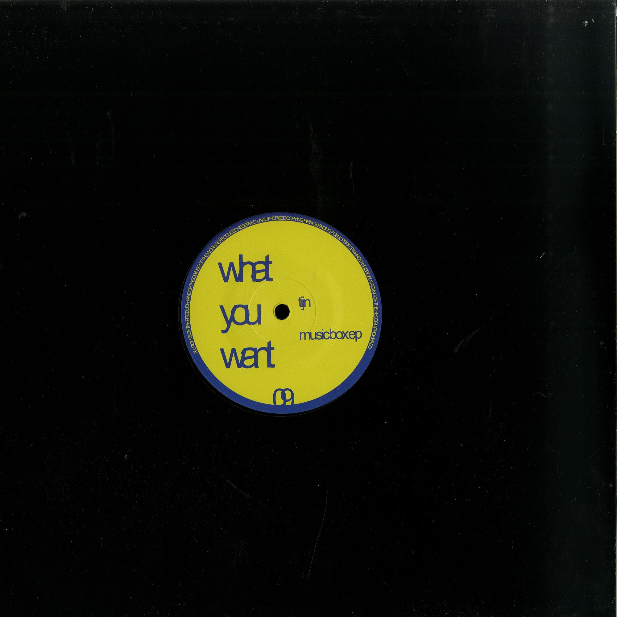 Tijn - MUSIC BOX EP