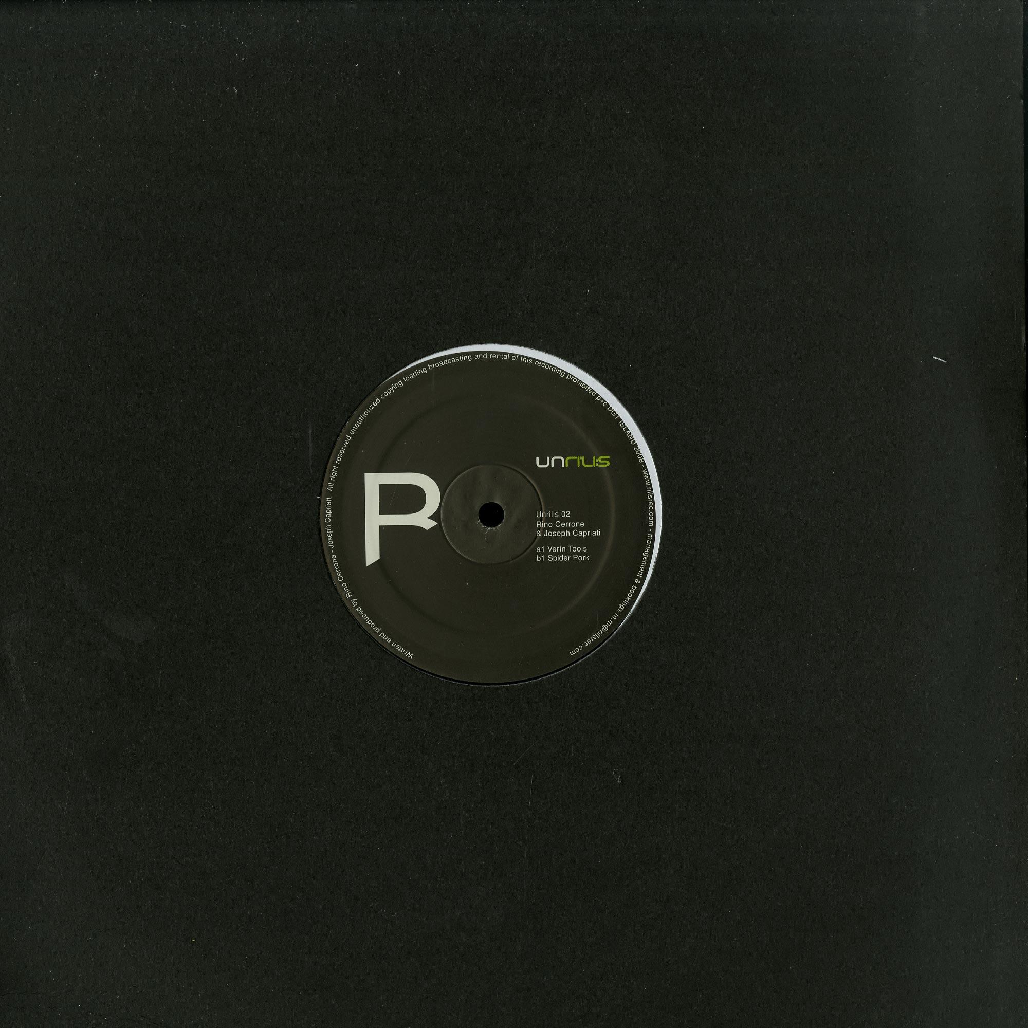 Rino Cerrone & Joseph Capriati - UNRILIS 02