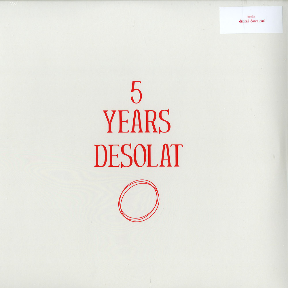 Various Artists - 5 YEARS DESOLAT