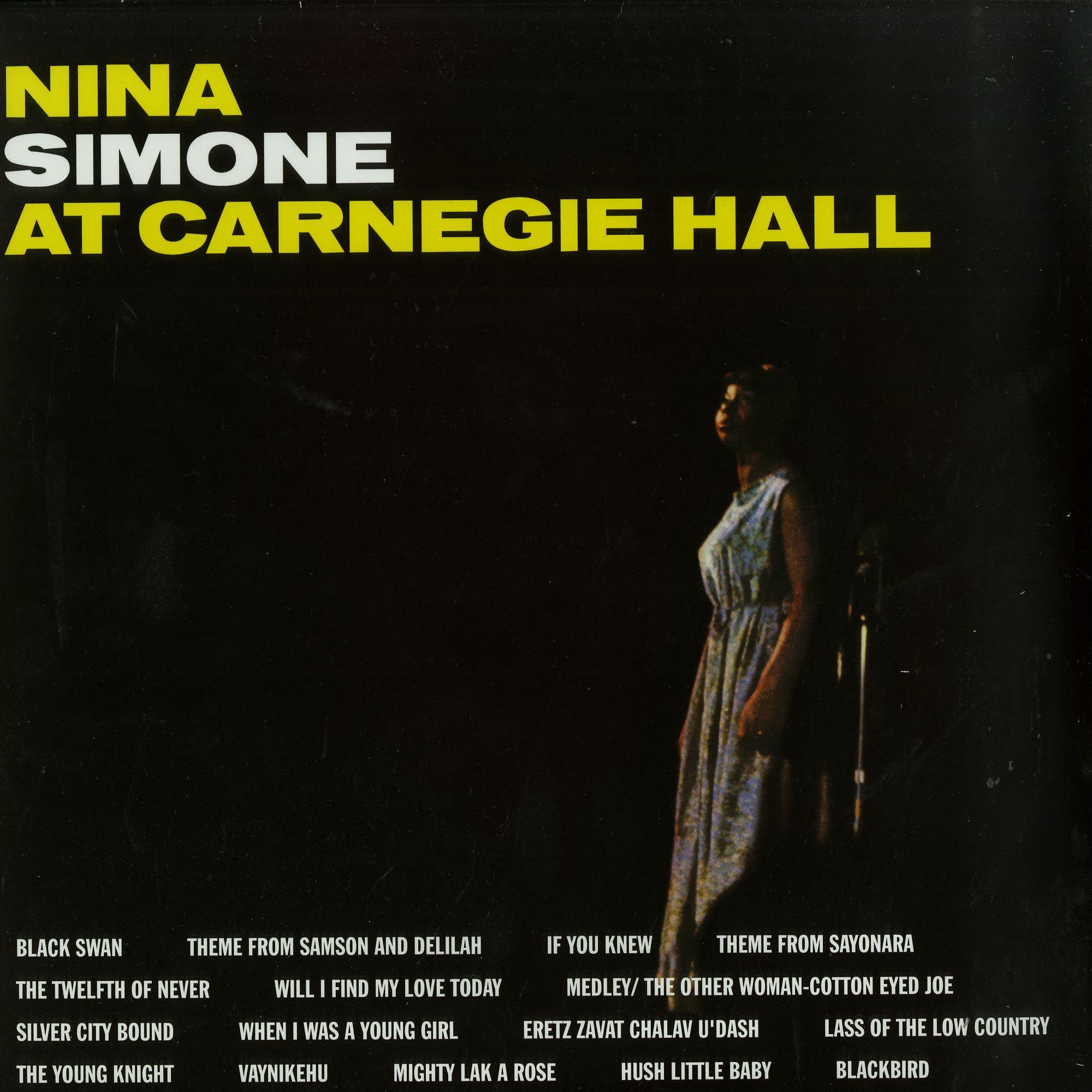 Nina Simone - AT CARNEGIE HALL