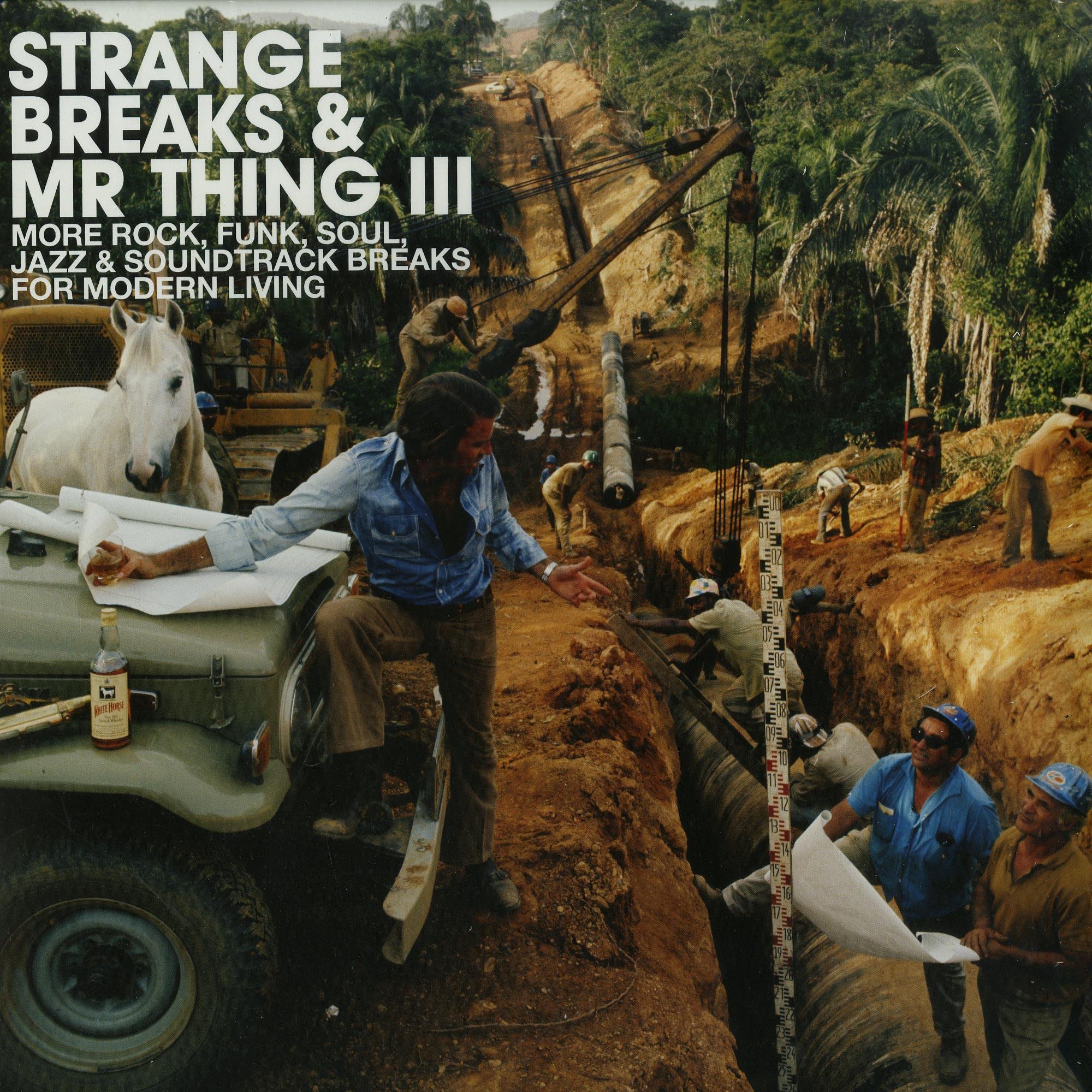 Various Artists - STRANGE BREAKS & MR THING III