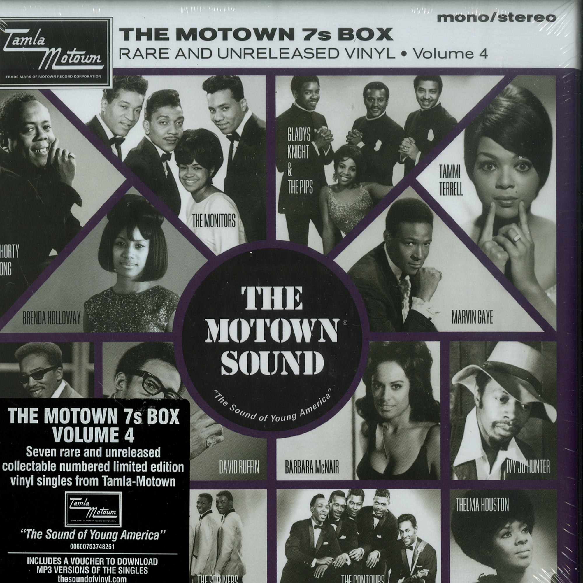 Various Artists - THE MOTOWN 7S BOX VOL. 4