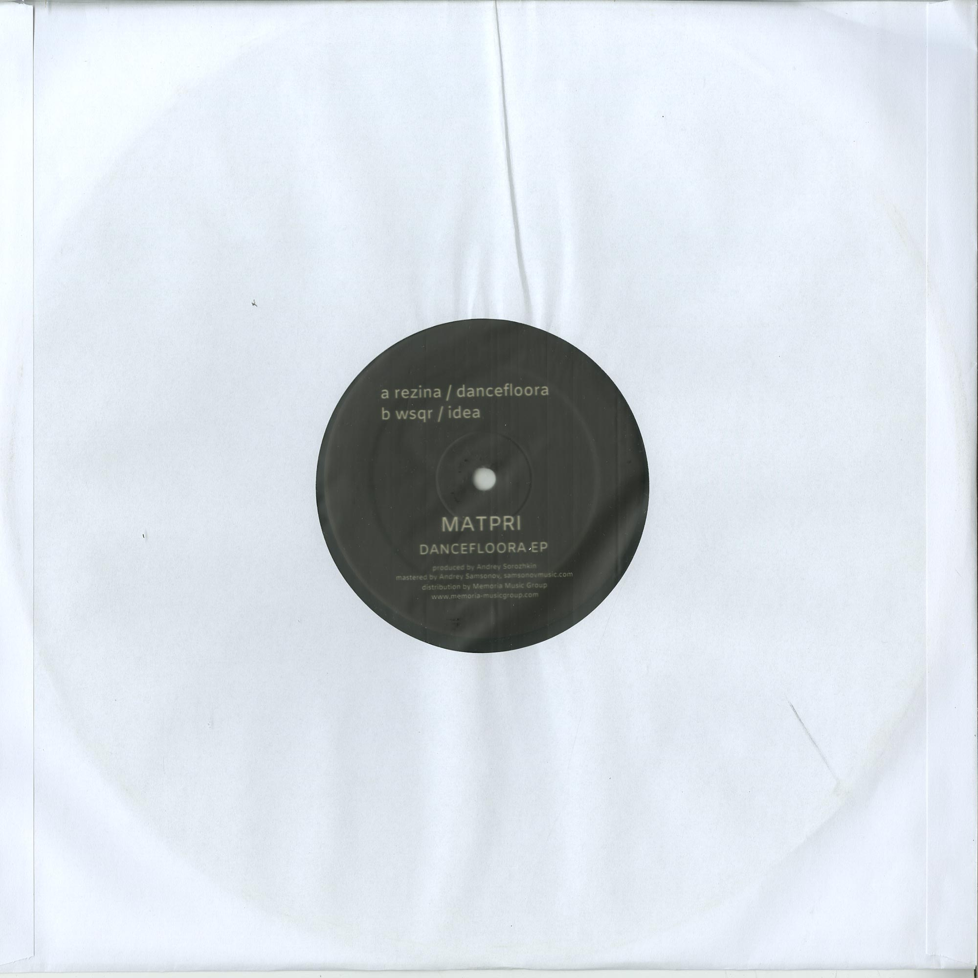 Matpri - DANCEFLOORA EP