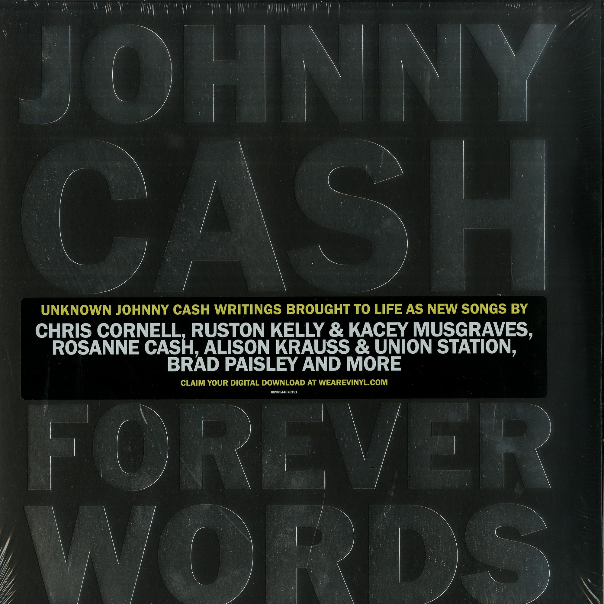 Johnny Cash - FOREVER WORDS