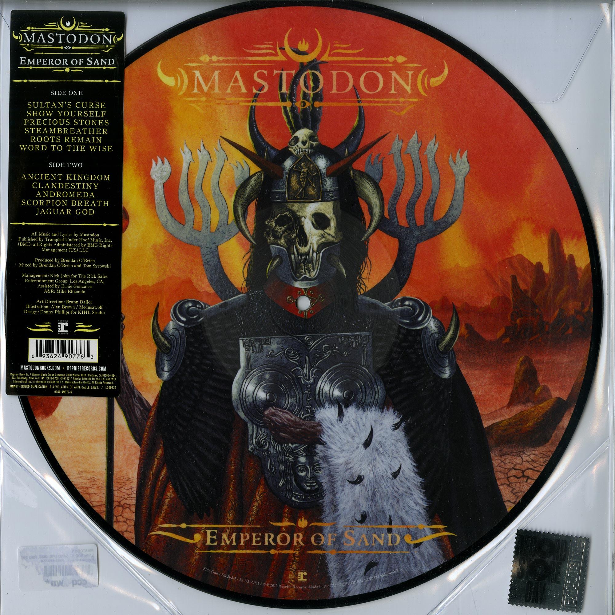 Mastodon - EMPEROR OF SAND