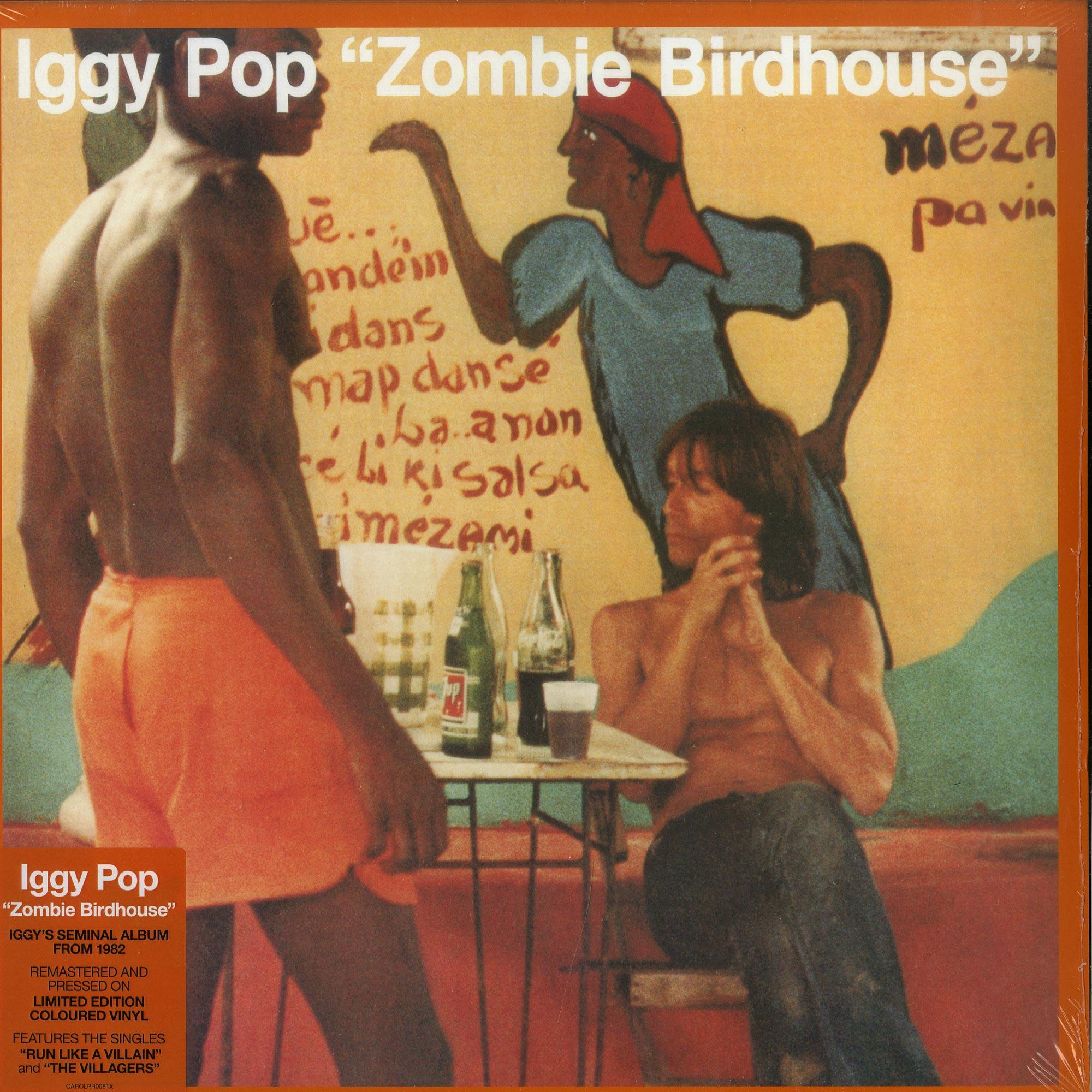 Iggy Pop - ZOMBIE BIRDHOUSE