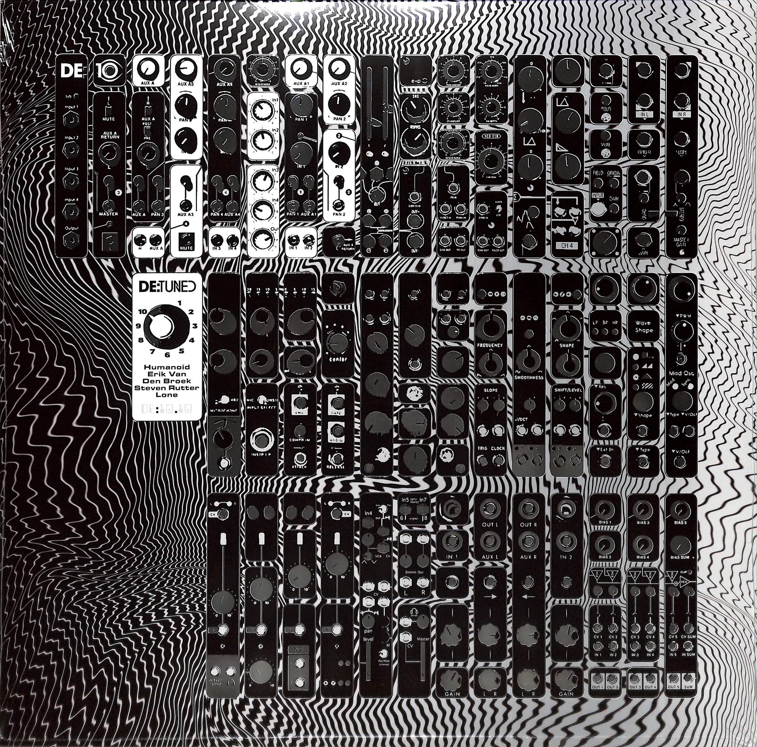 Humanoid / Erik Van Den Broek / Steven Rutter / Lone - DE:10.10