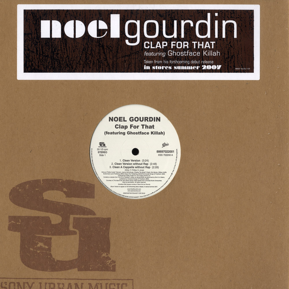 Noel Gourdin feat Ghostface Killah - CLAP FOR THAT