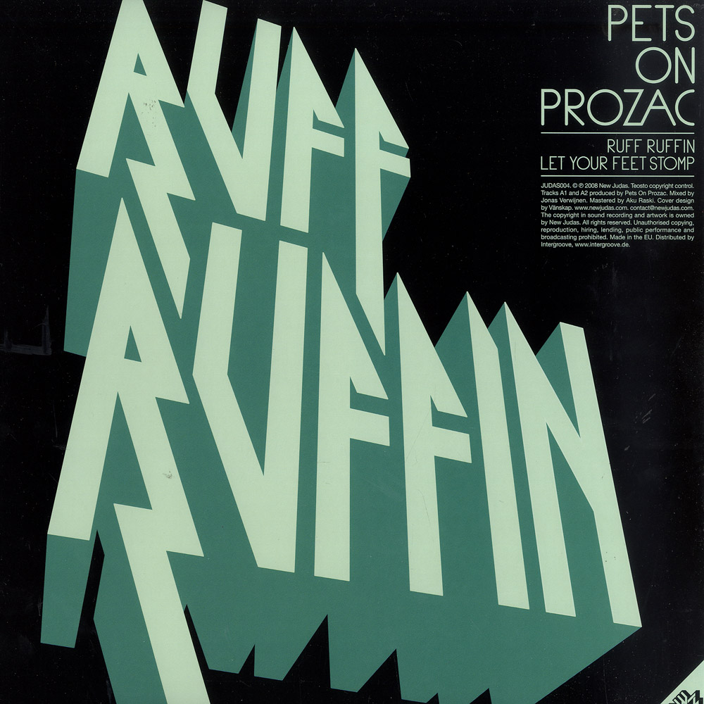 Pets On Prozac / Obi Blanche - RUFF RUFFIN / RAG TAG VAGABONDS