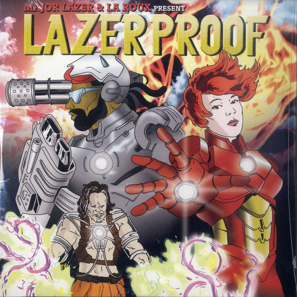 Major Lazer & La Roux - LAZERPROOF