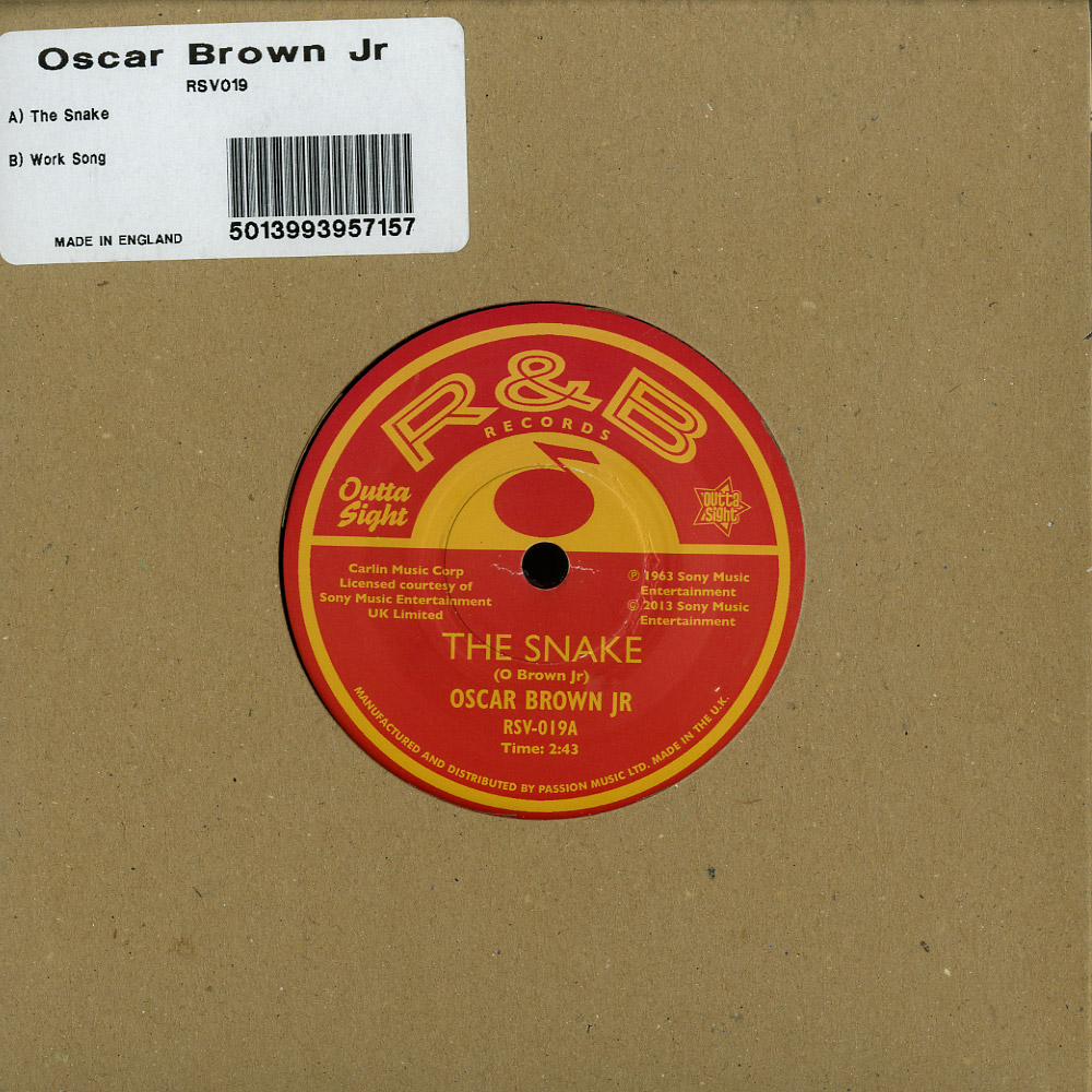 Oscar Brown Jr. - THE SNAKE / WORK SONG