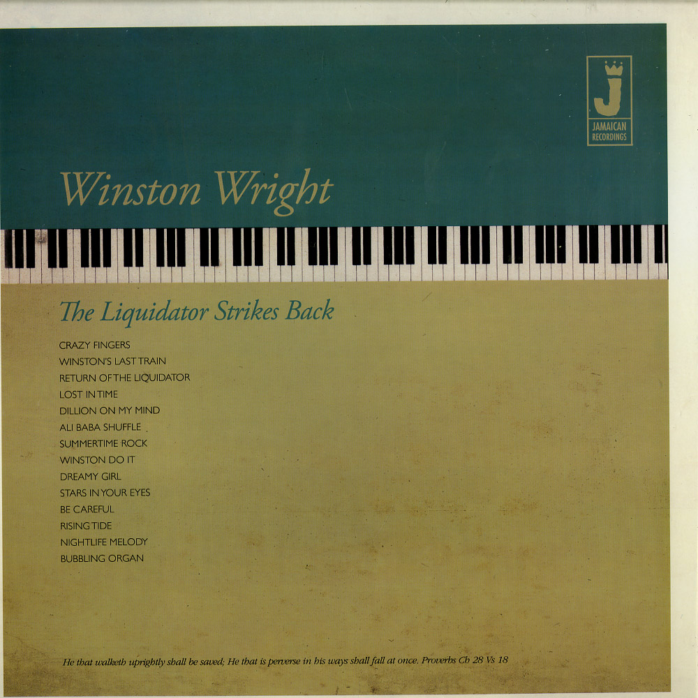 Winston Wright - THE LIQUIDATOR STRIKES BACK