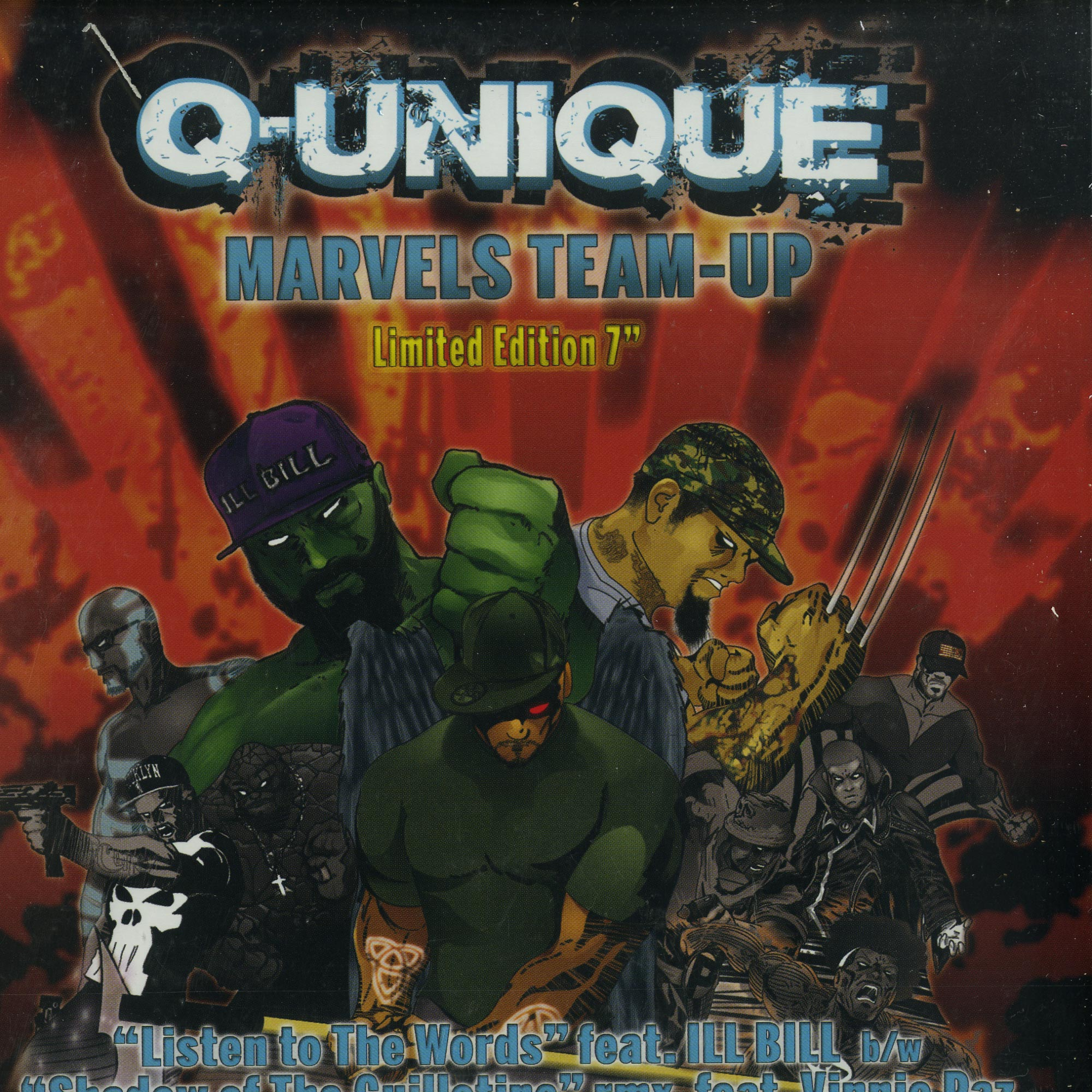 Q-Unique - MARVELS TEAM-UP