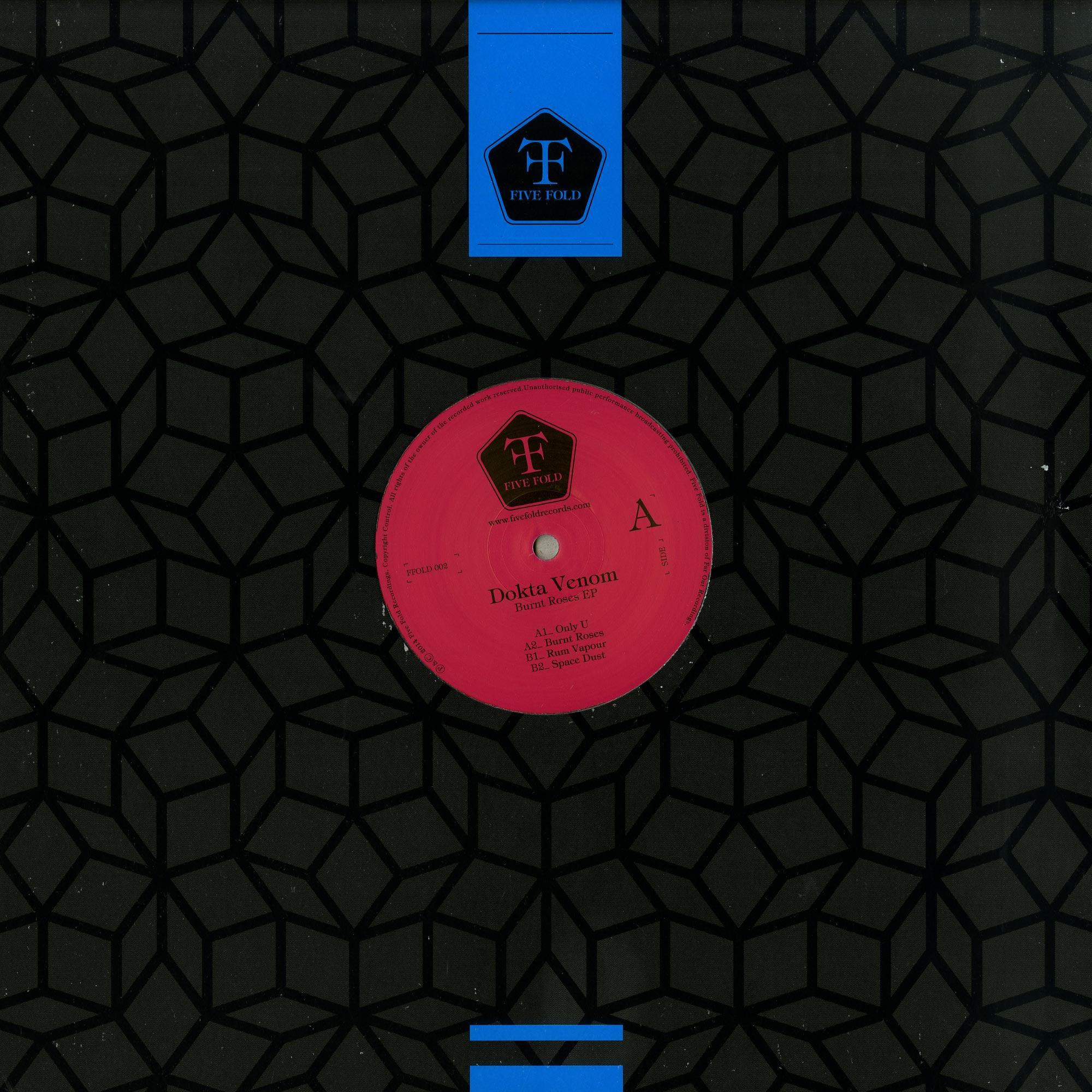 Dokta Venom - BURNT ROSES EP