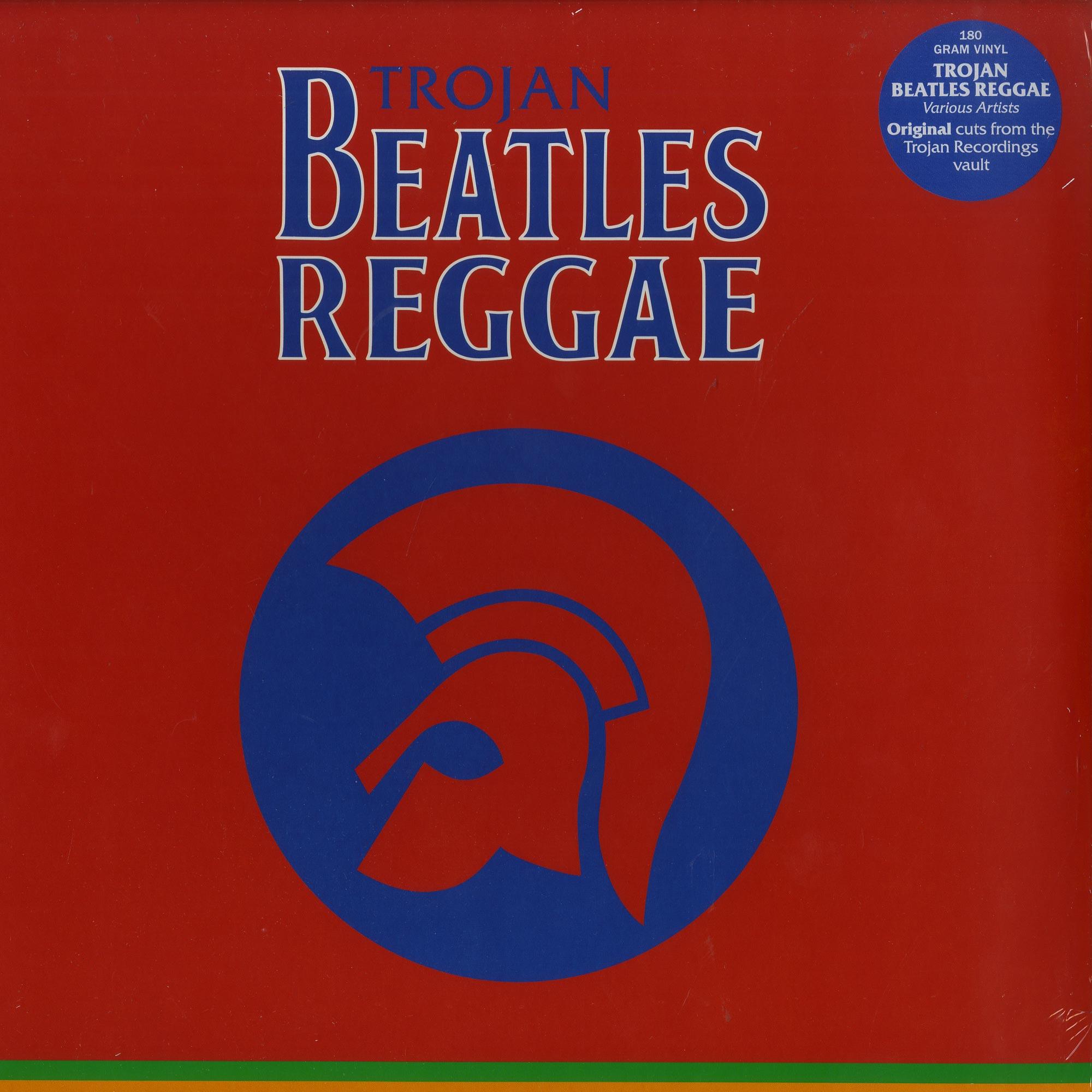 Various Artists - TROJAN BEATLES REGGAE - THE RED ALBUM